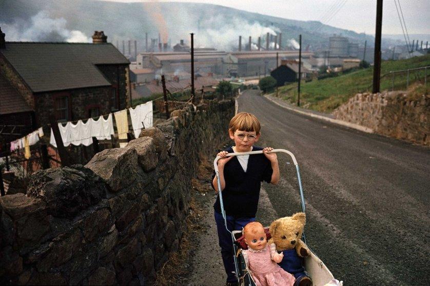 Bruce Davidson. Great Britain. Wales. 1965.