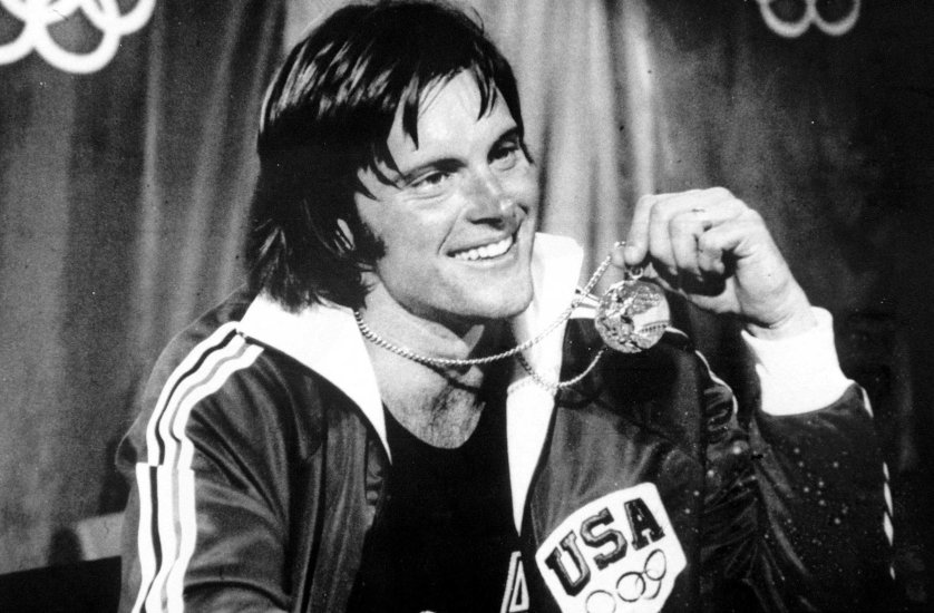 1976 Olympic Games. Montreal, Canada. Men's Decathlon. USA's gold medal winner Bruce Jenner.