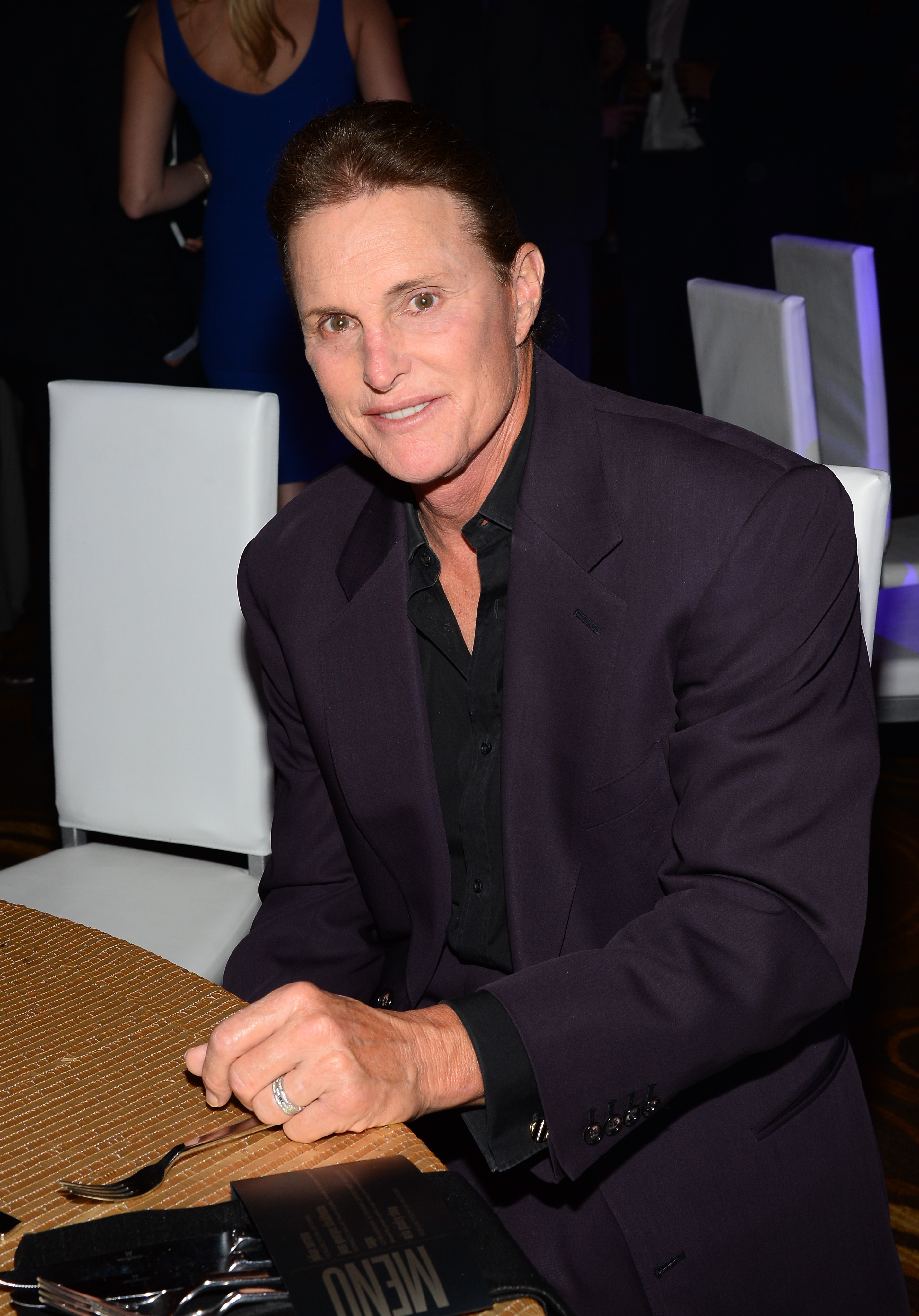 Television personality Bruce Jenner attends the 13th annual Michael Jordan Celebrity Invitational gala on April 4, 2014 in Las Vegas.