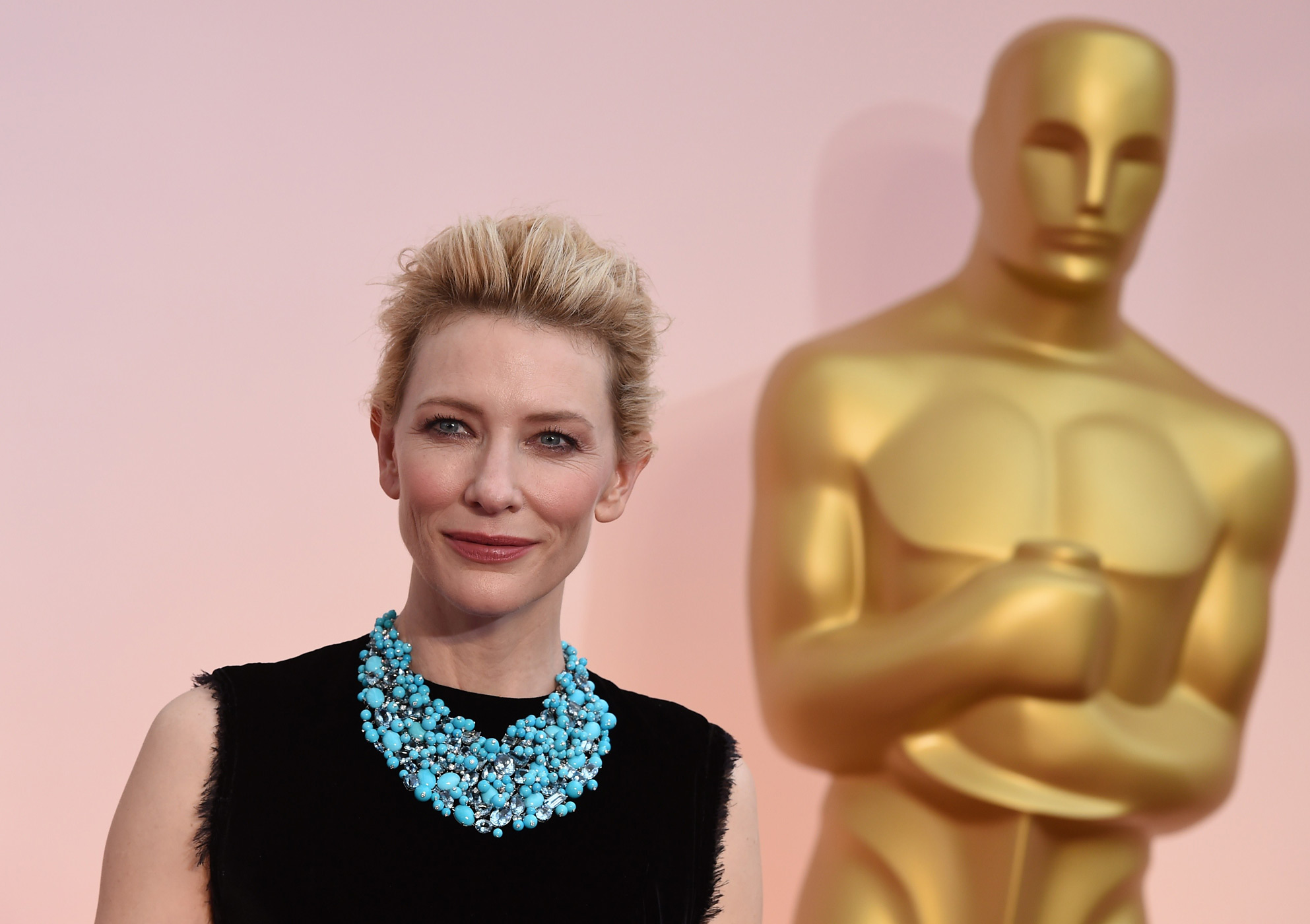 Cate Blanchett attends the 87th Annual Academy Awards on Feb. 22, 2015 in Hollywood, Calif.