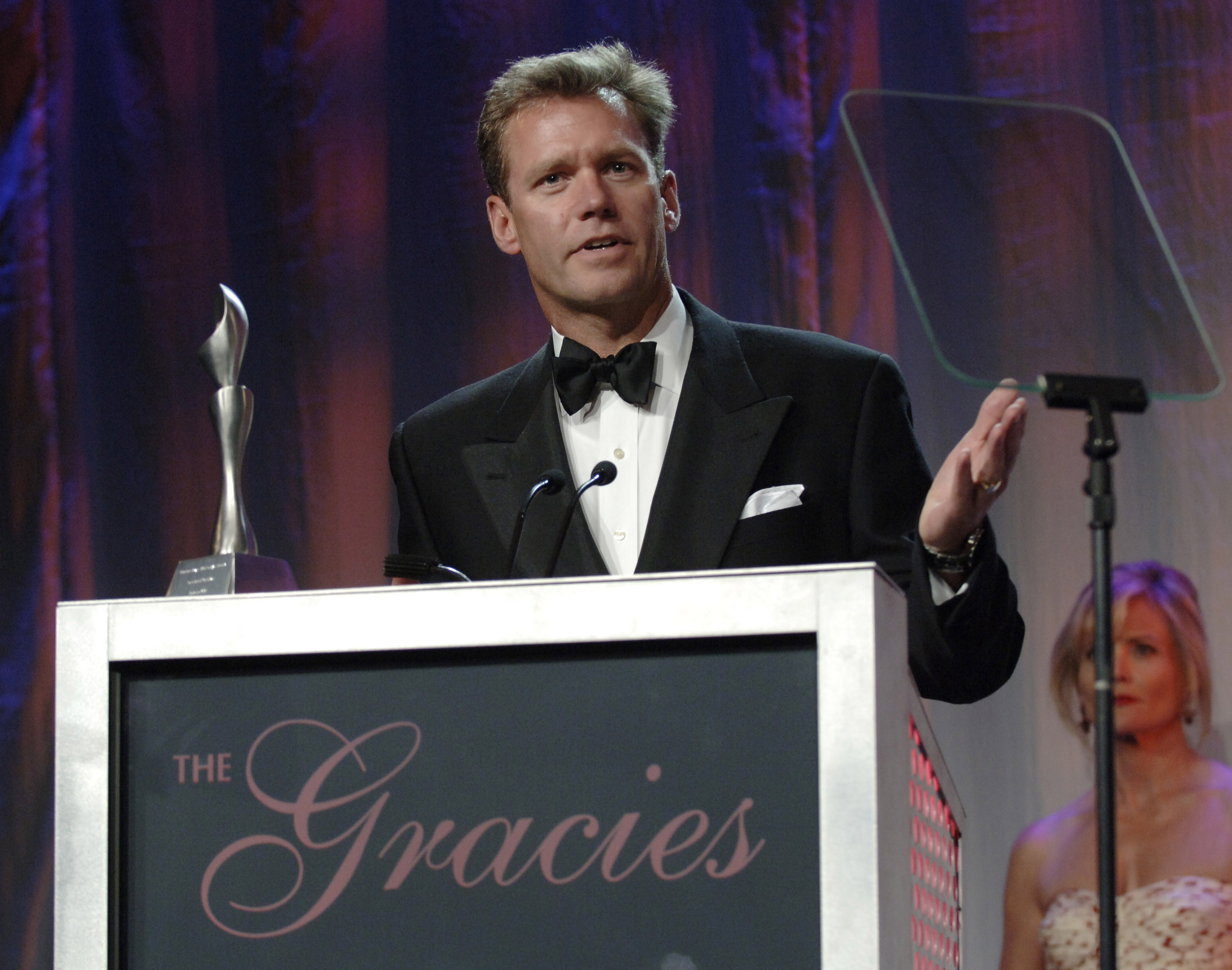Chris Hansen, accepting award for Outstanding Documentary on June 19, 2006 at the Gracie Allen awards.
