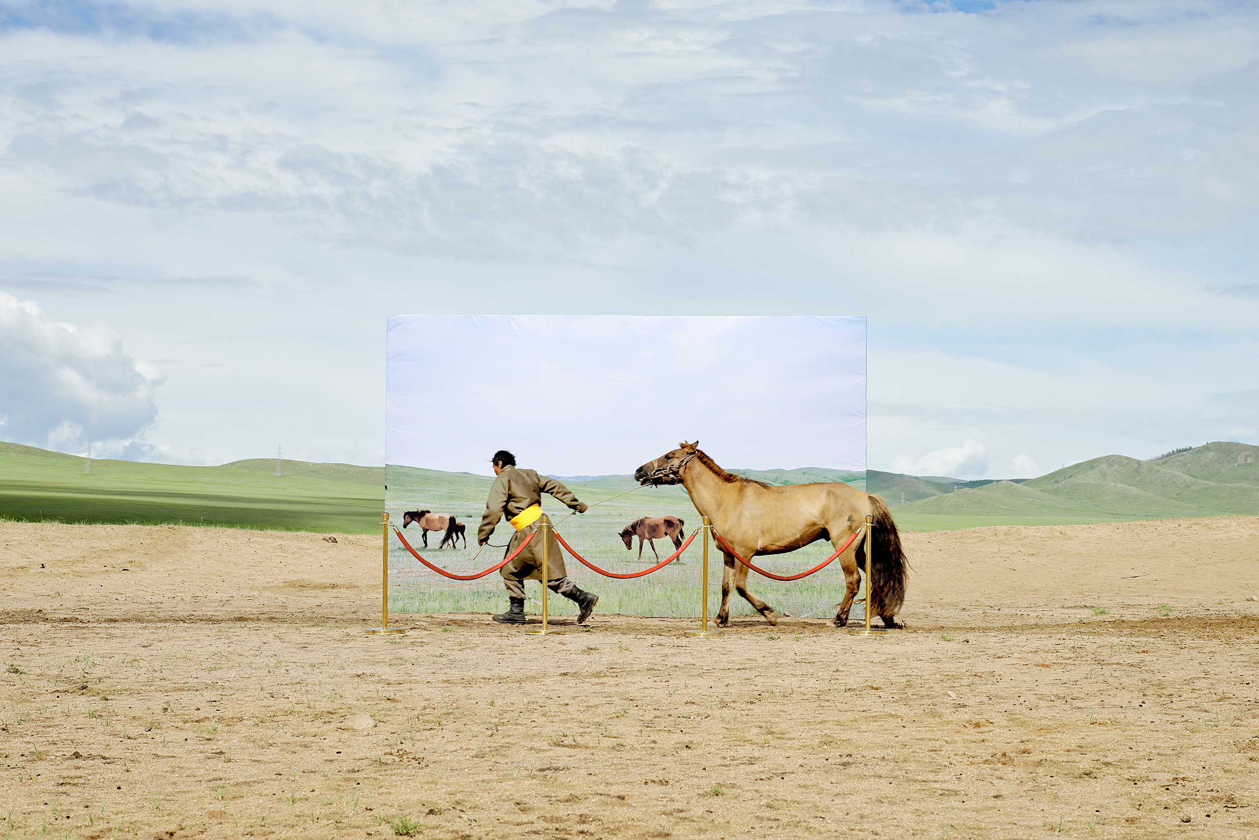 Nominated in the Conceptual Category. Daesung Lee's work on the traditional Mongolian nomadic lifestyle.