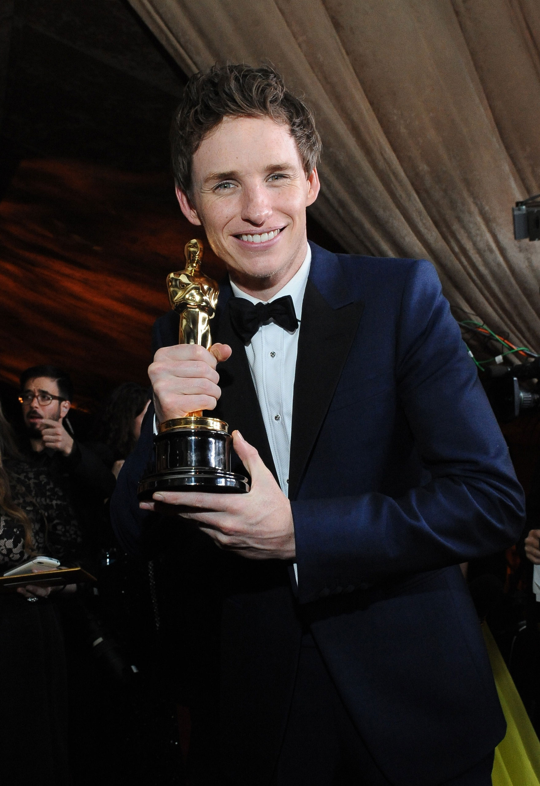 <strong>2015: Eddie Redmayne - <i>The Theory of Everything</i></strong>