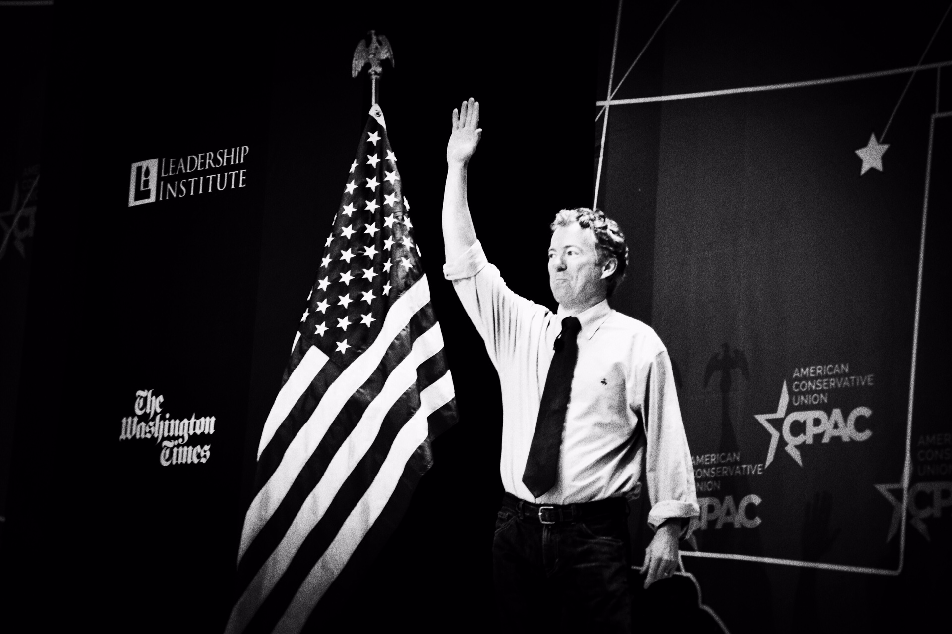 Rand Paul speaks at CPAC in National Harbor, Md. on Feb. 27, 2015.