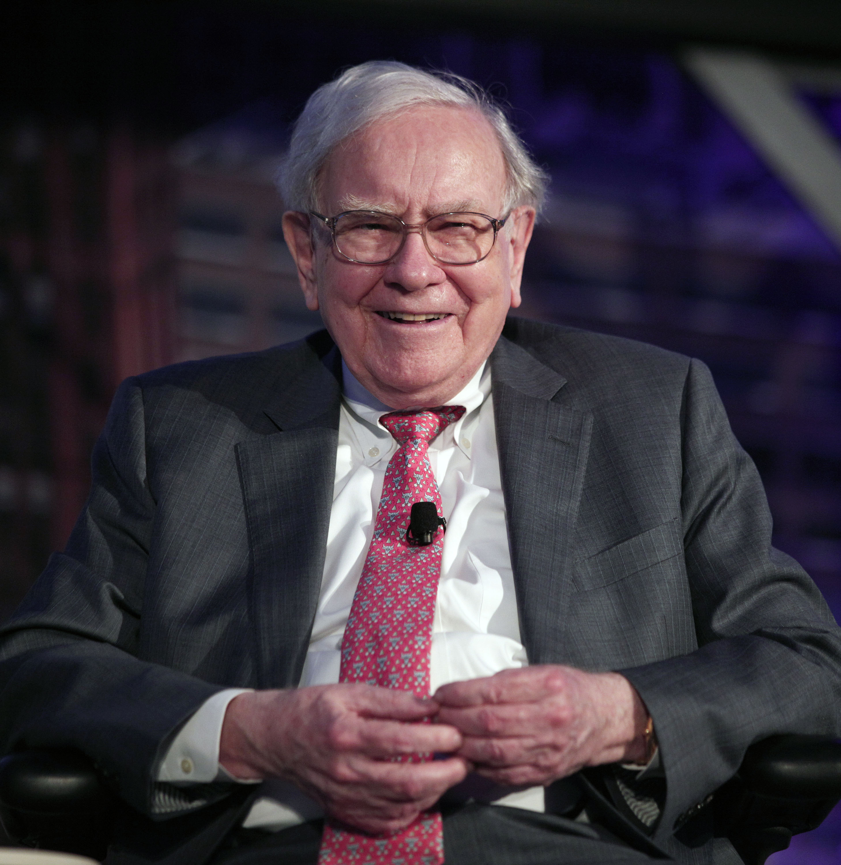 Billionaire investor Warren Buffett speaks at an event called,  Detroit Homecoming  on Sept. 18, 2014 in Detroit.