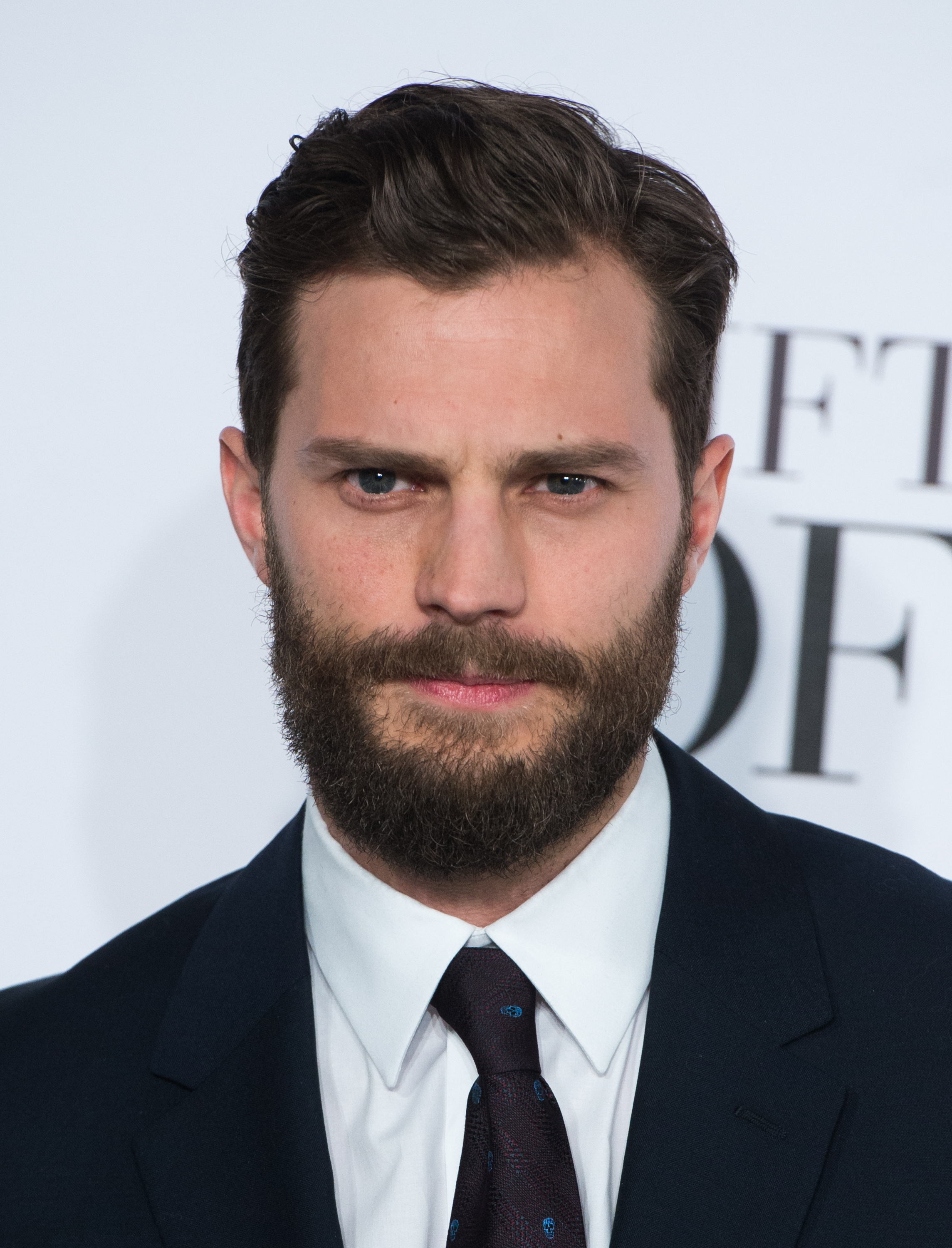 Jamie Dornan attends the UK Premiere of 'Fifty Shades Of Grey' in London on Feb. 12, 2015.