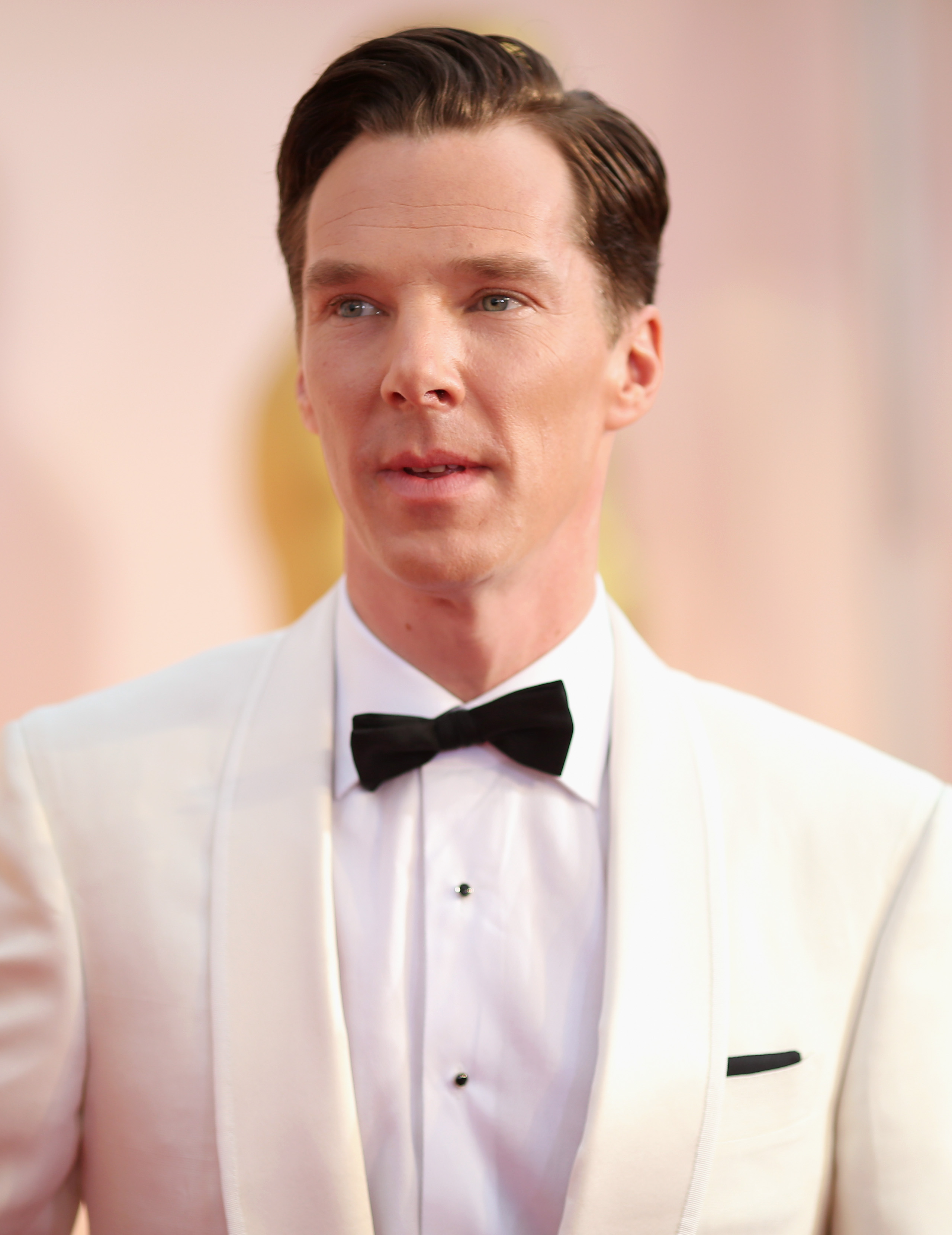 Actor Benedict Cumberbatch attends the 87th Annual Academy Awards in Hollywood, Calif. on Feb. 22, 2015.