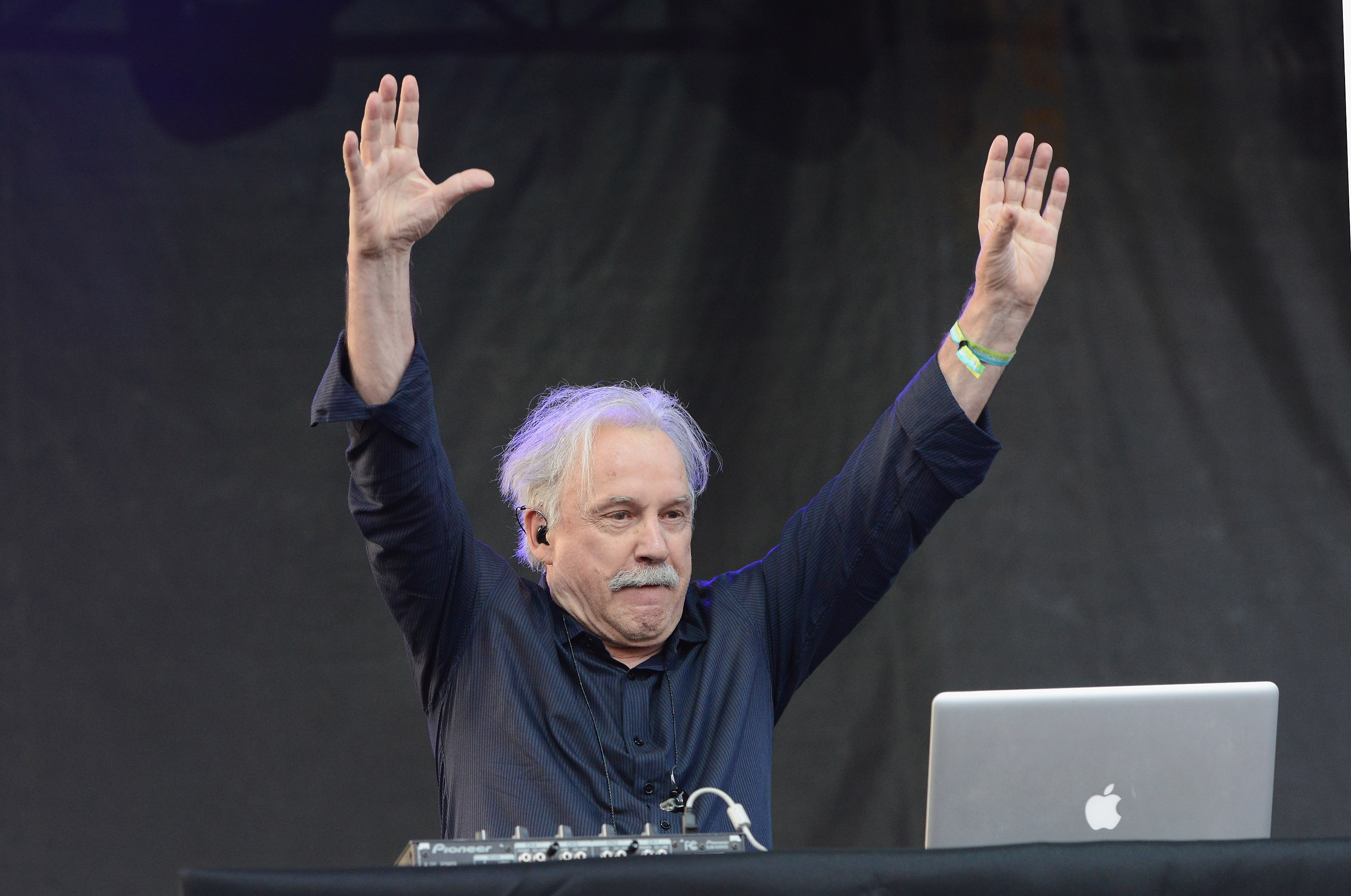 Giorgio Moroder performs at the Pitchfork Music Festival on July 18, 2014 in Chicago, Illinois.