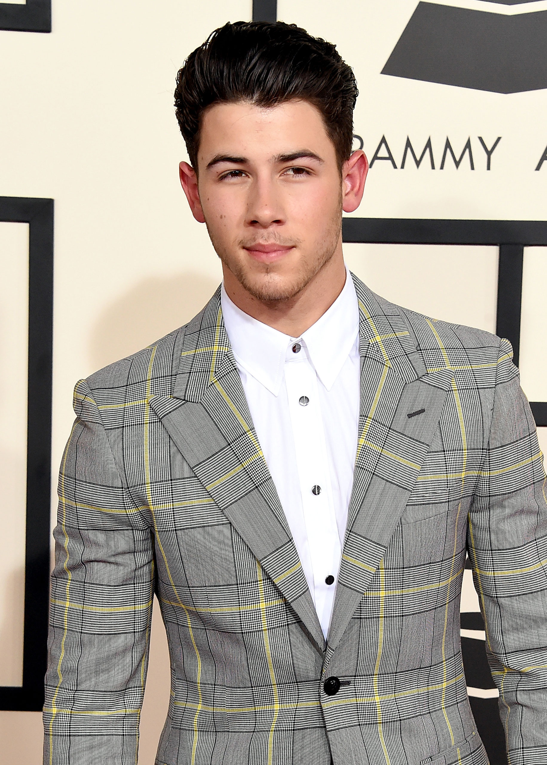 Nick Jonas attends attends the 57th Annual Grammy Awards at the Staples Center on Feb. 8, 2015 in Los Angeles, Calif.