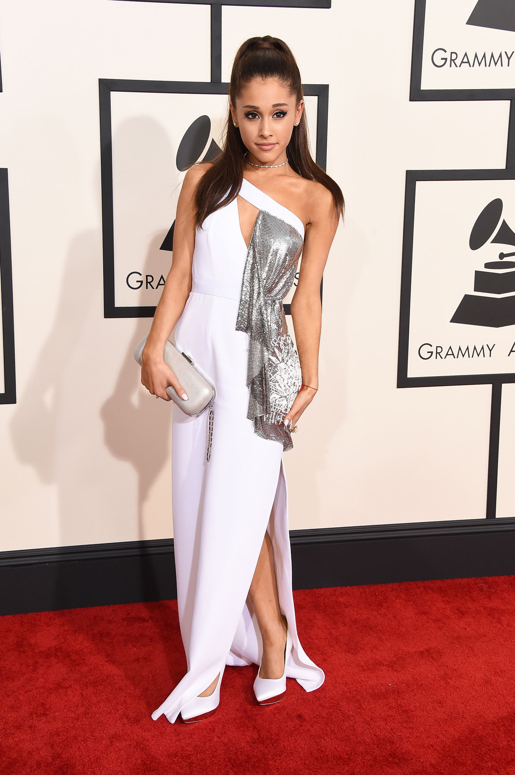 Ariana Grande attends the 57th Annual Grammy Awards at the Staples Center on Feb. 8, 2015 in Los Angeles, Calif.