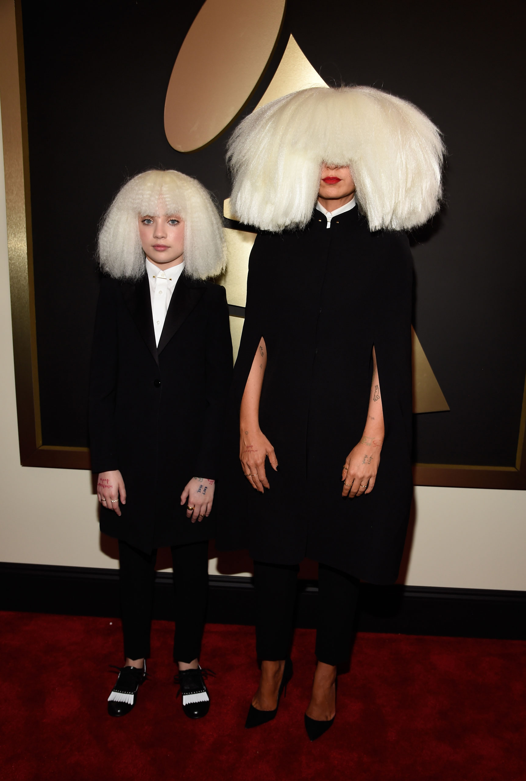 Sia attends the 57th Annual Grammy Awards at the Staples Center on Feb. 8, 2015 in Los Angeles, Calif.