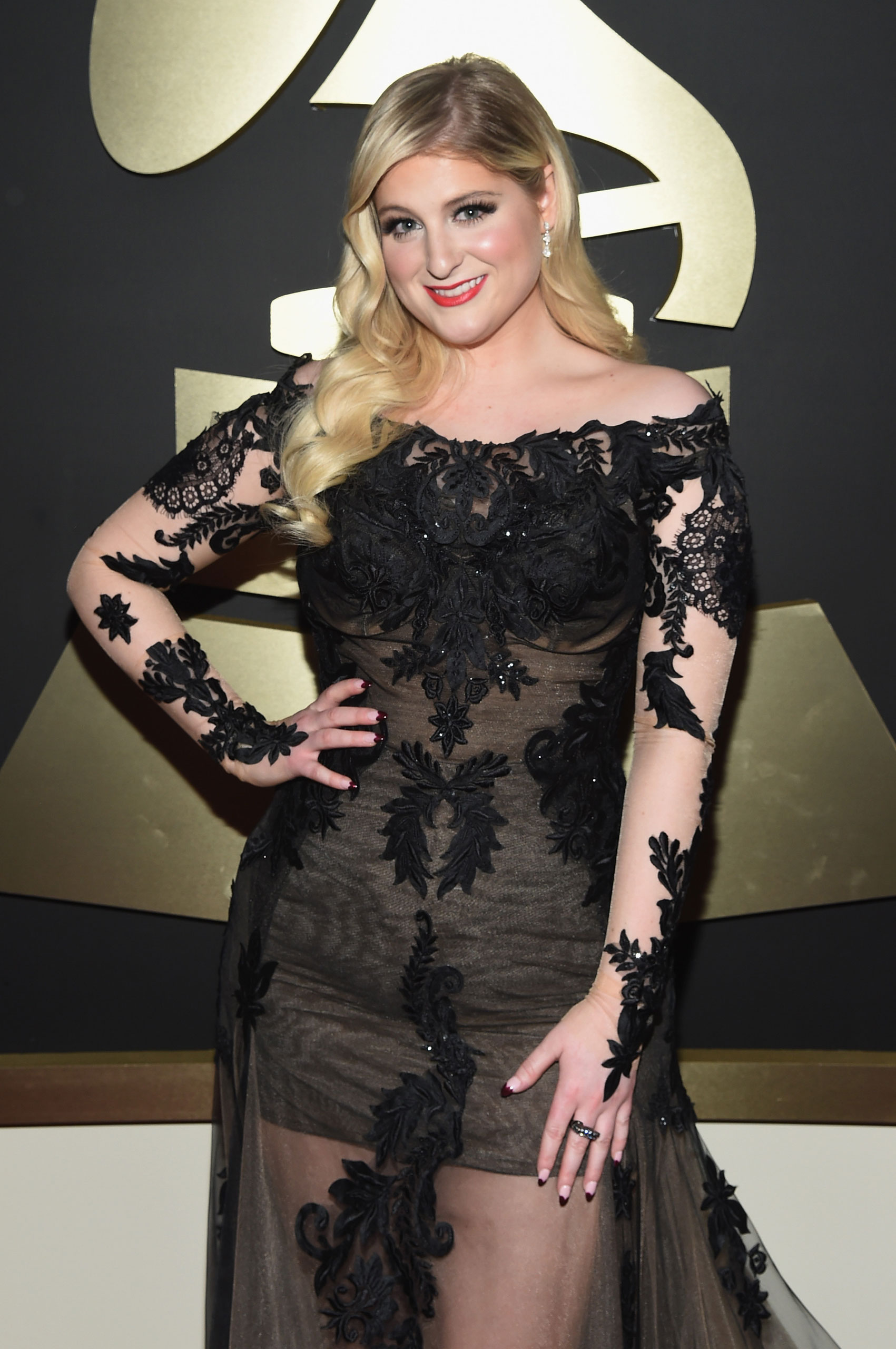 Meghan Trainor attends the 57th Annual Grammy Awards at the Staples Center on Feb. 8, 2015 in Los Angeles, Calif.