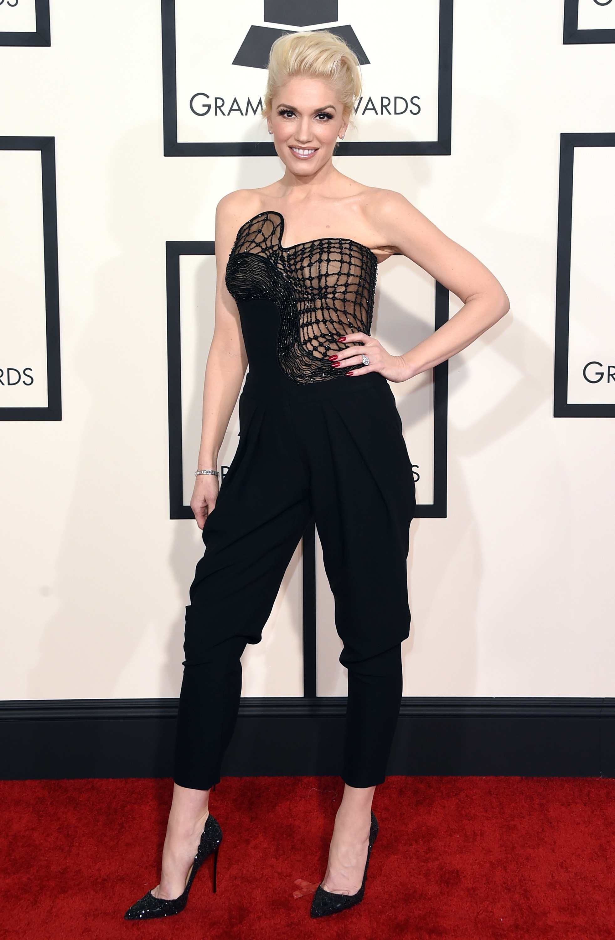 Gwen Stefani attends the 57th Annual Grammy Awards at the Staples Center on Feb. 8, 2015 in Los Angeles, Calif.