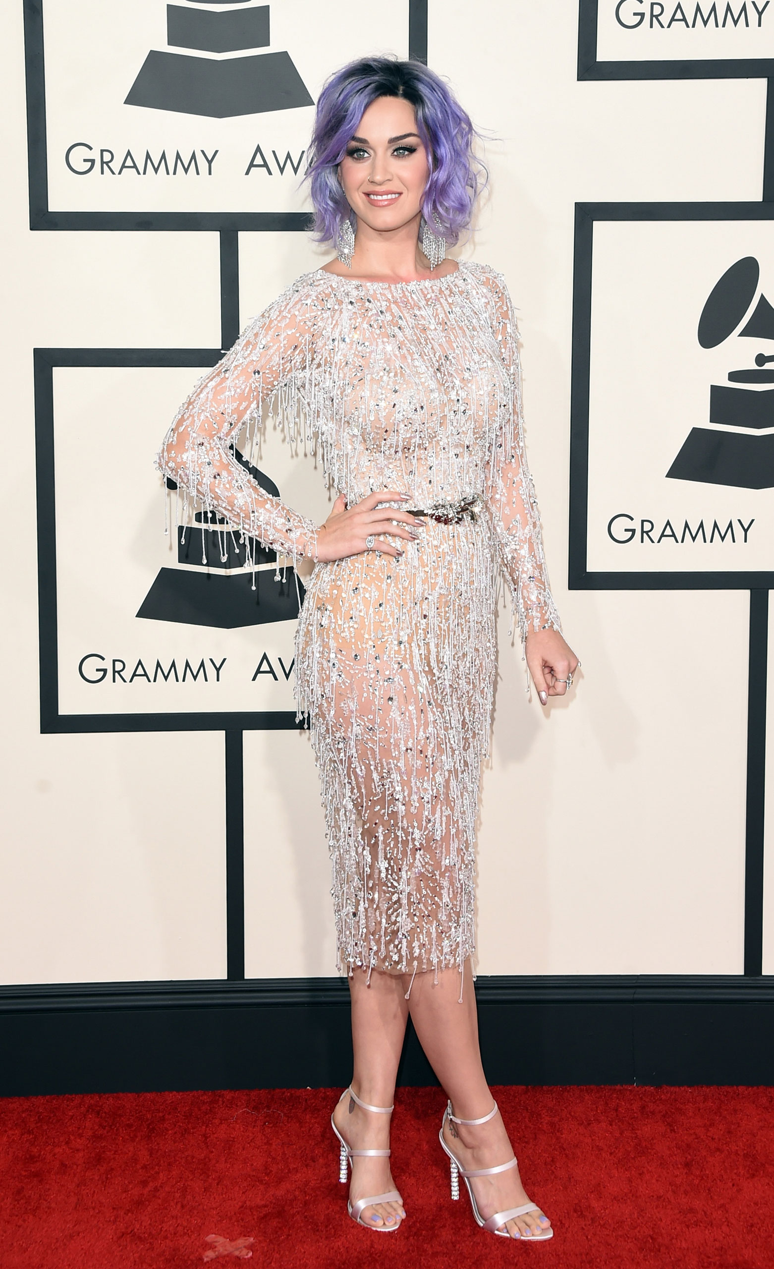 Katy Perry attends the 57th Annual Grammy Awards at the Staples Center on Feb. 8, 2015 in Los Angeles, Calif.