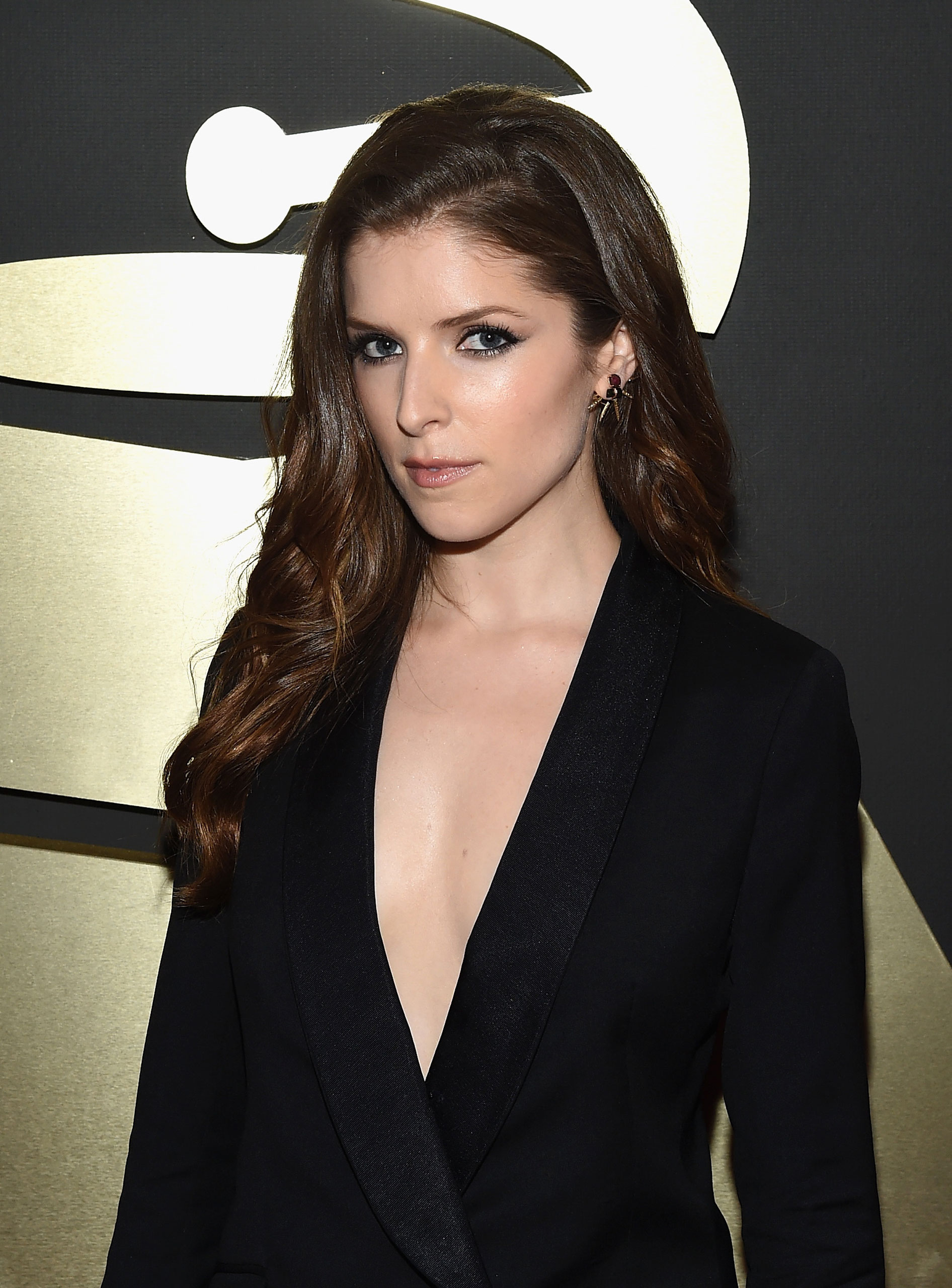Anna Kendrick attends the 57th Annual Grammy Awards at the Staples Center on Feb. 8, 2015 in Los Angeles, Calif.