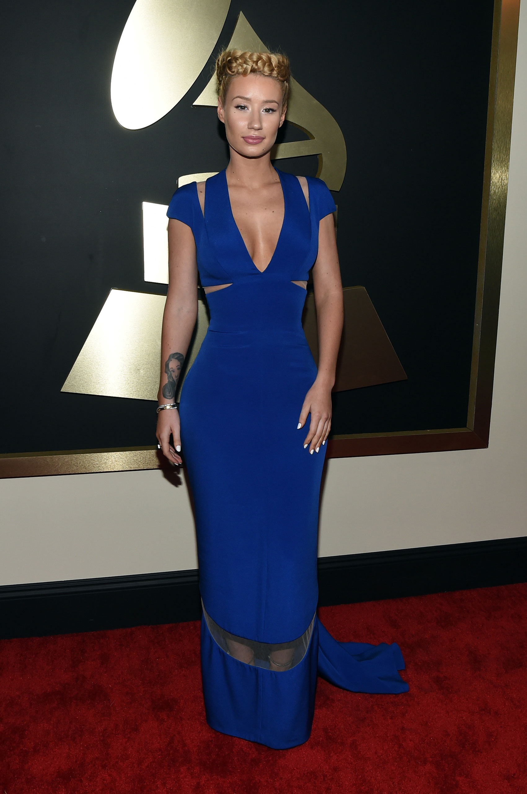 Iggy Azalea attends the 57th Annual Grammy Awards at the Staples Center on Feb. 8, 2015 in Los Angeles, Calif.