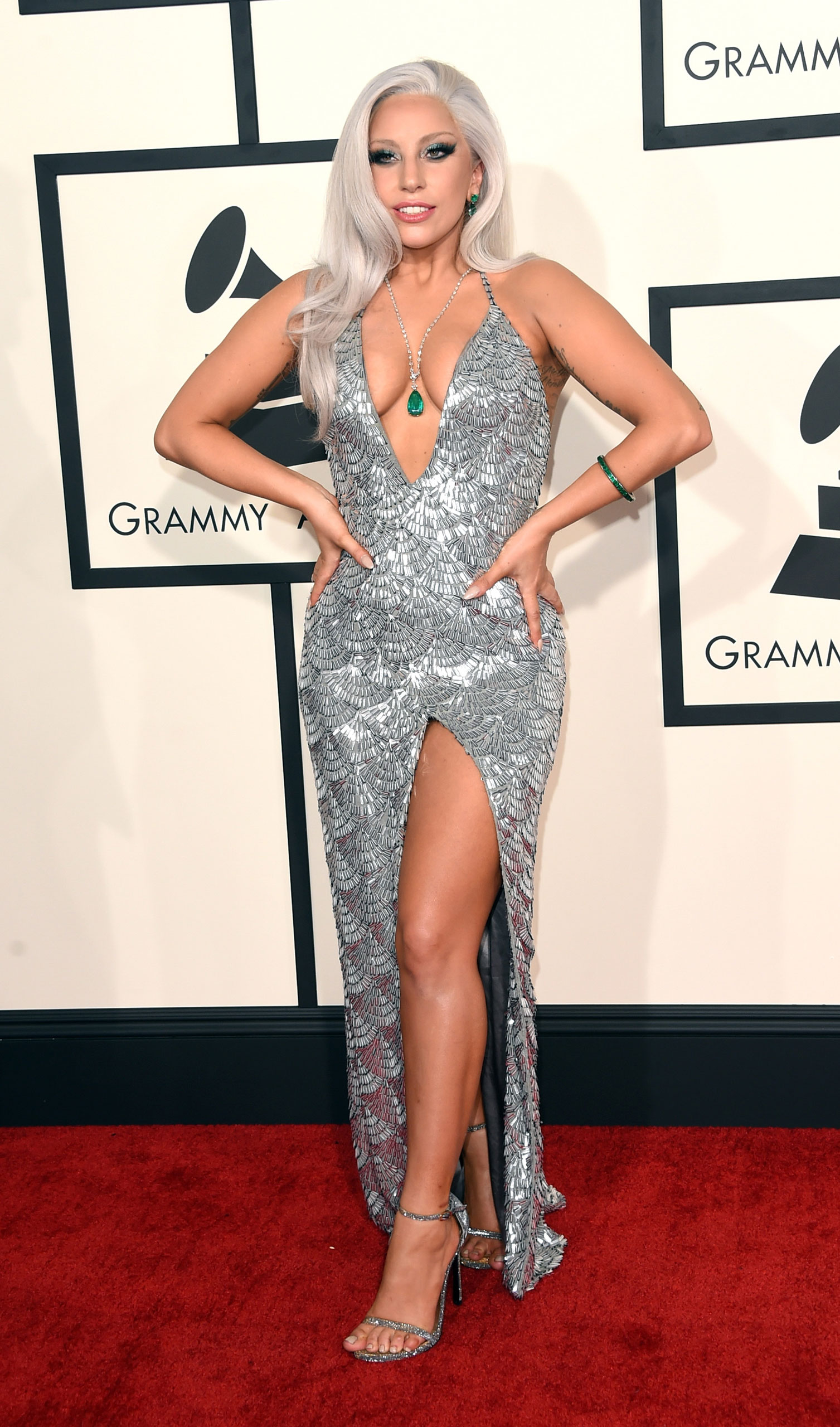 Lady Gaga attends the 57th Annual Grammy Awards at the Staples Center on Feb. 8, 2015 in Los Angeles, Calif.
