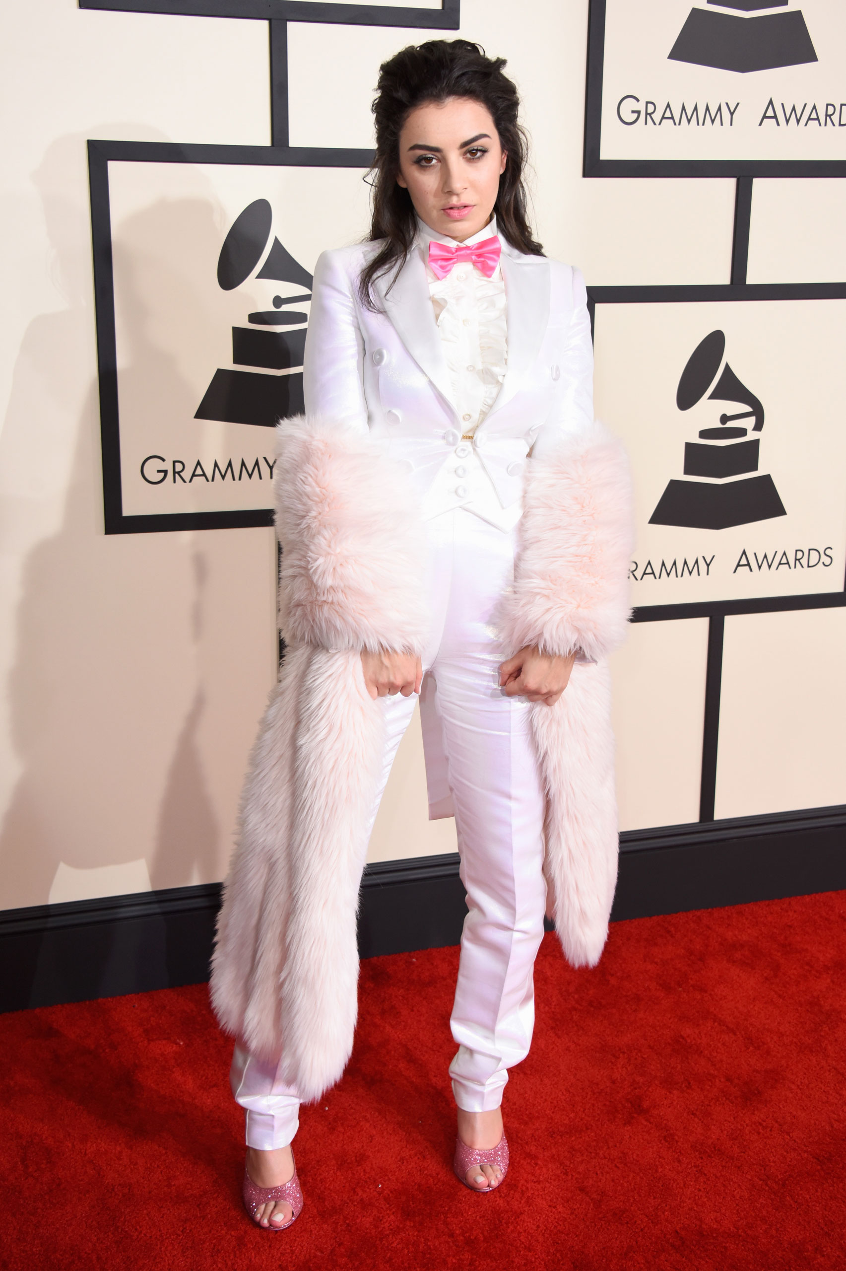 Charli XCX attends the 57th Annual Grammy Awards at the Staples Center on Feb. 8, 2015 in Los Angeles, Calif.