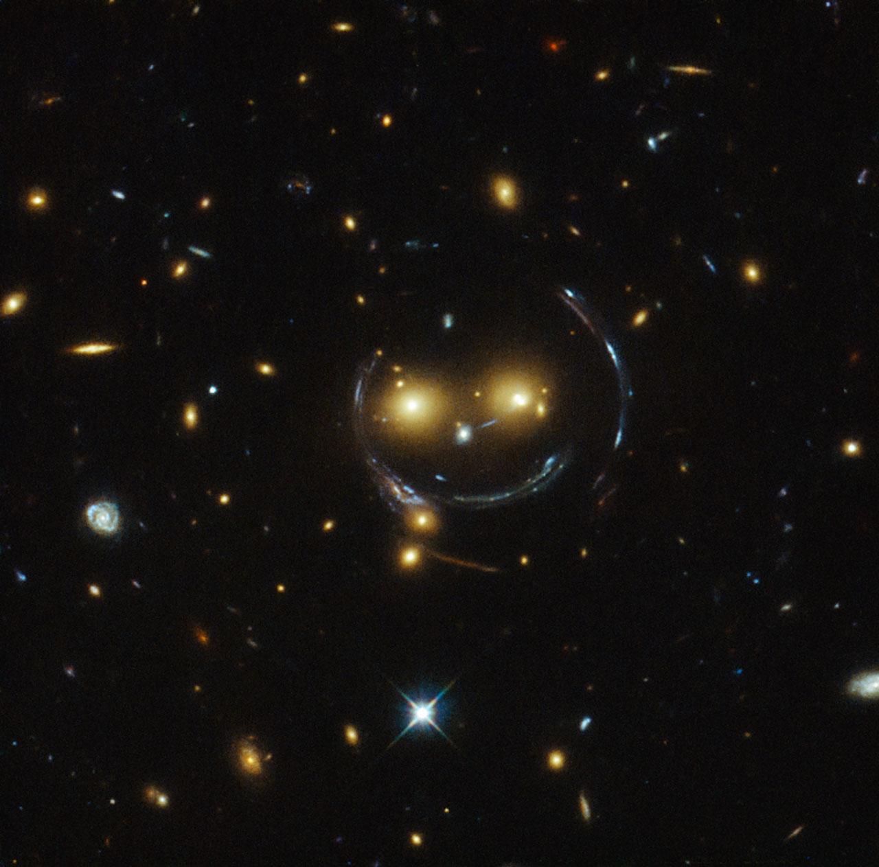 Galaxy cluster SDSS J1038+4849