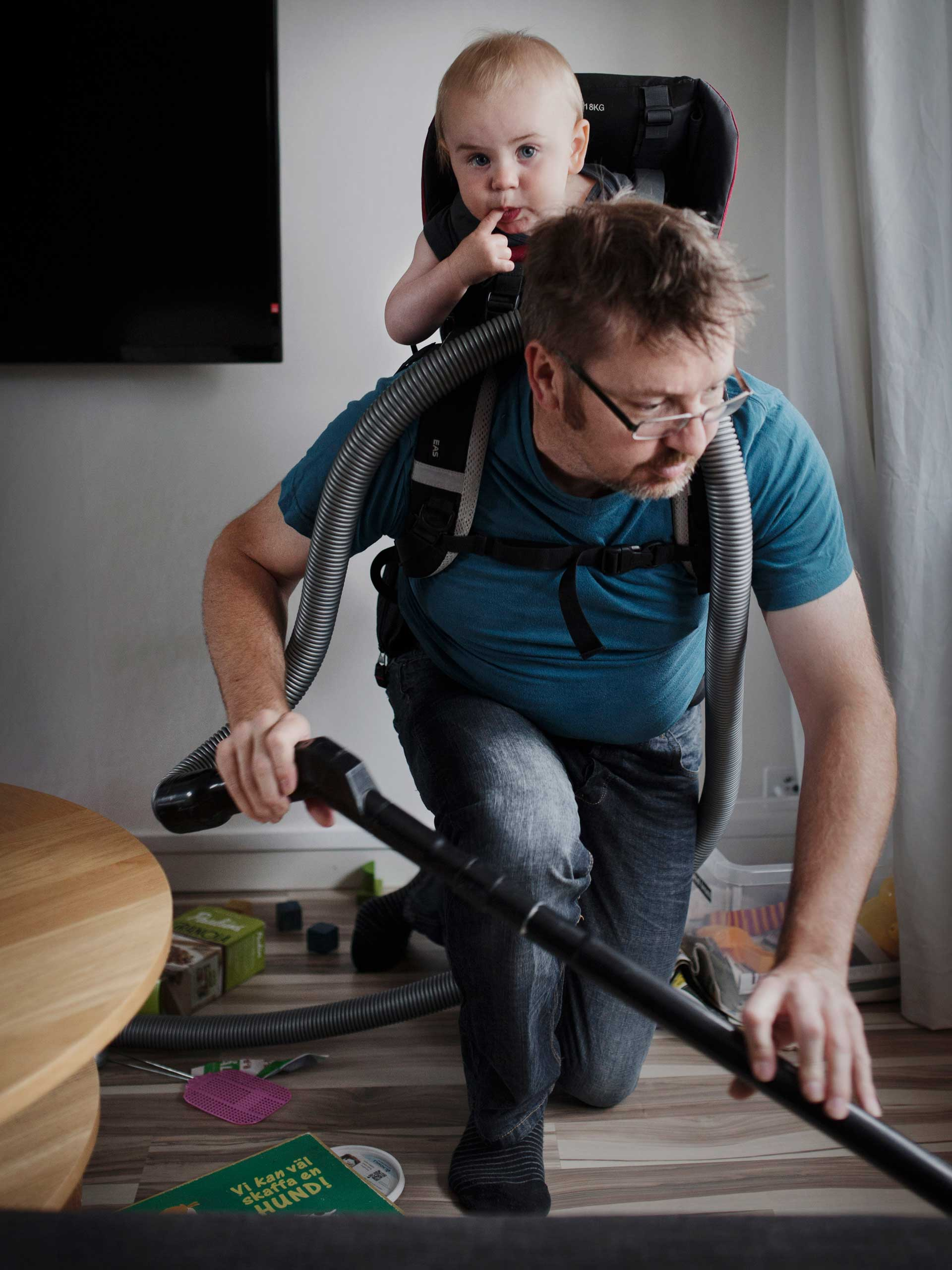 Nominated in the People Category.  Johan Bavman's work on Swedish dads.