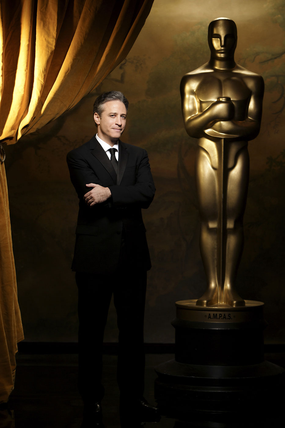 Jon Stewart hosts the 78th Academy Awards in 2006.