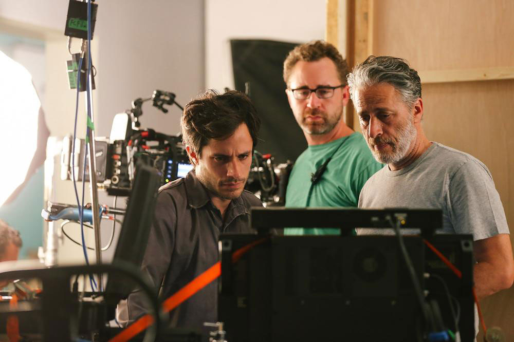 Stewart makes his directorial debut in the 2014 drama <i>Rosewater</i>.