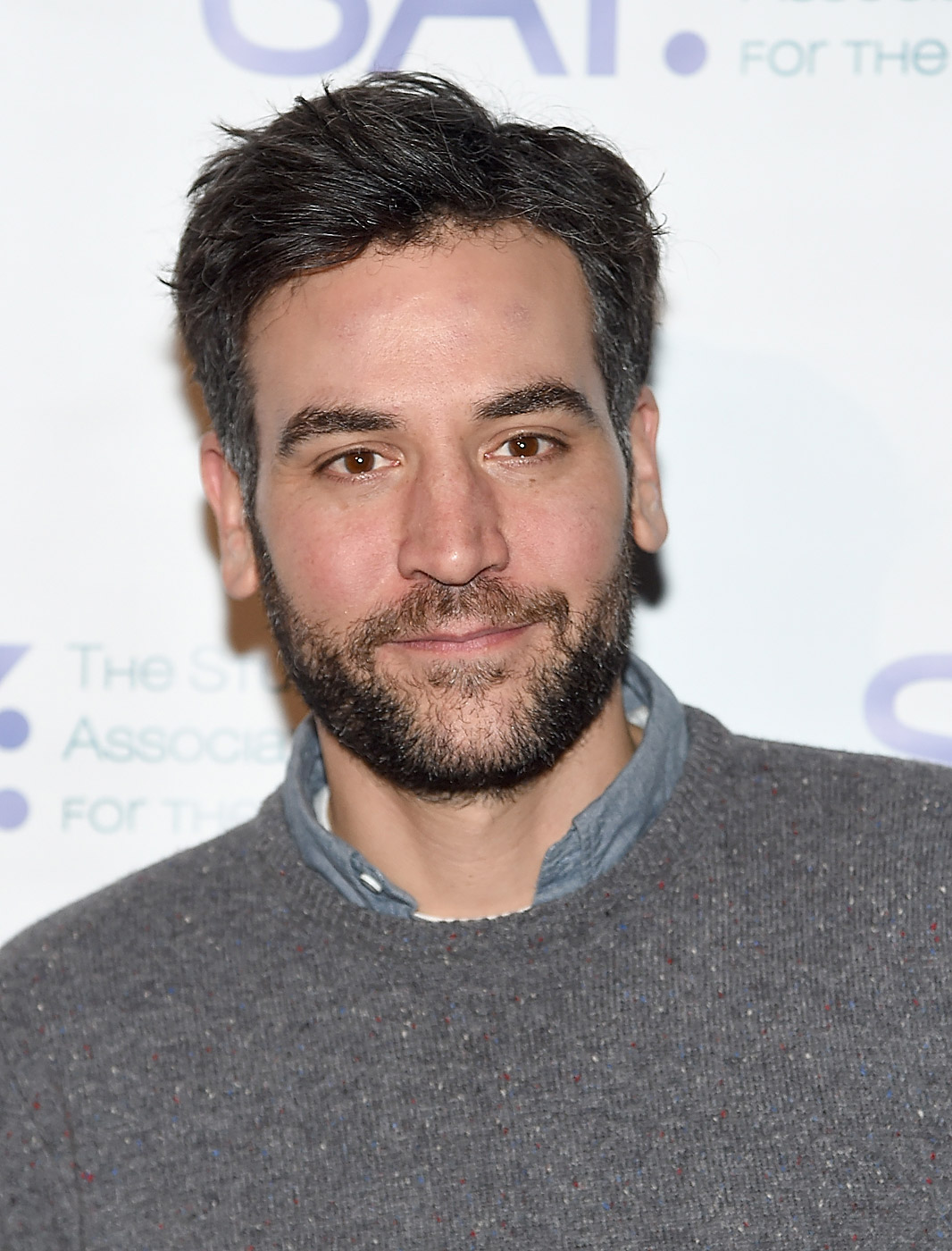 Josh Radnor attends the Third Annual Paul Rudd All-Star Bowling Benefit at Lucky Strike Lanes & Lounge on Jan. 12, 2015 in New York City.