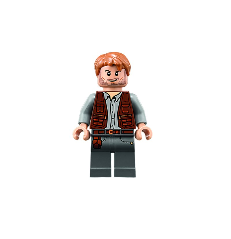 Chris Pratt Reveals Lego Figure In Jurassic World Video Game Time