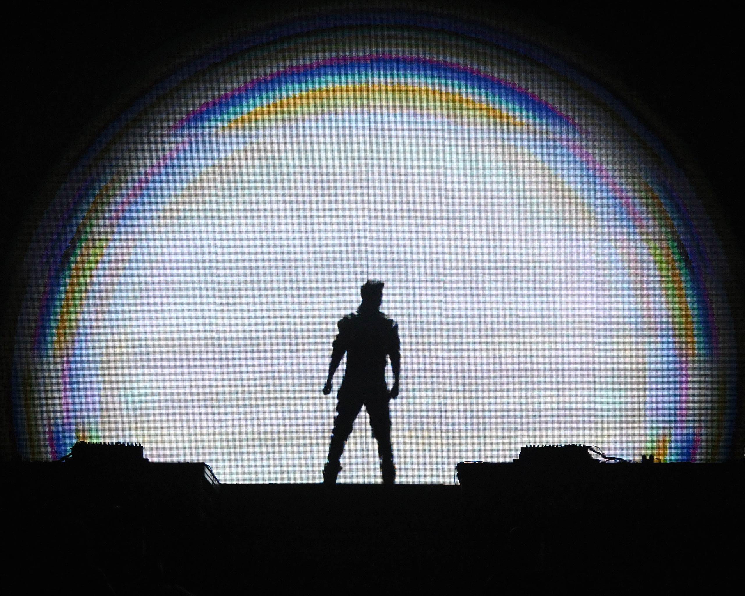 Justin Bieber performs at Philips Arena in Atlanta, Ga. in 2013.