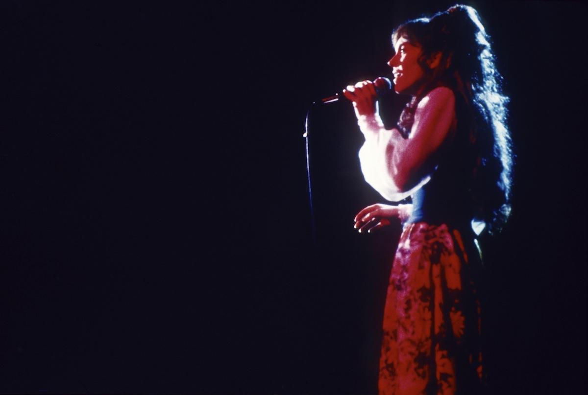 Karen Carpenter performing in 1976