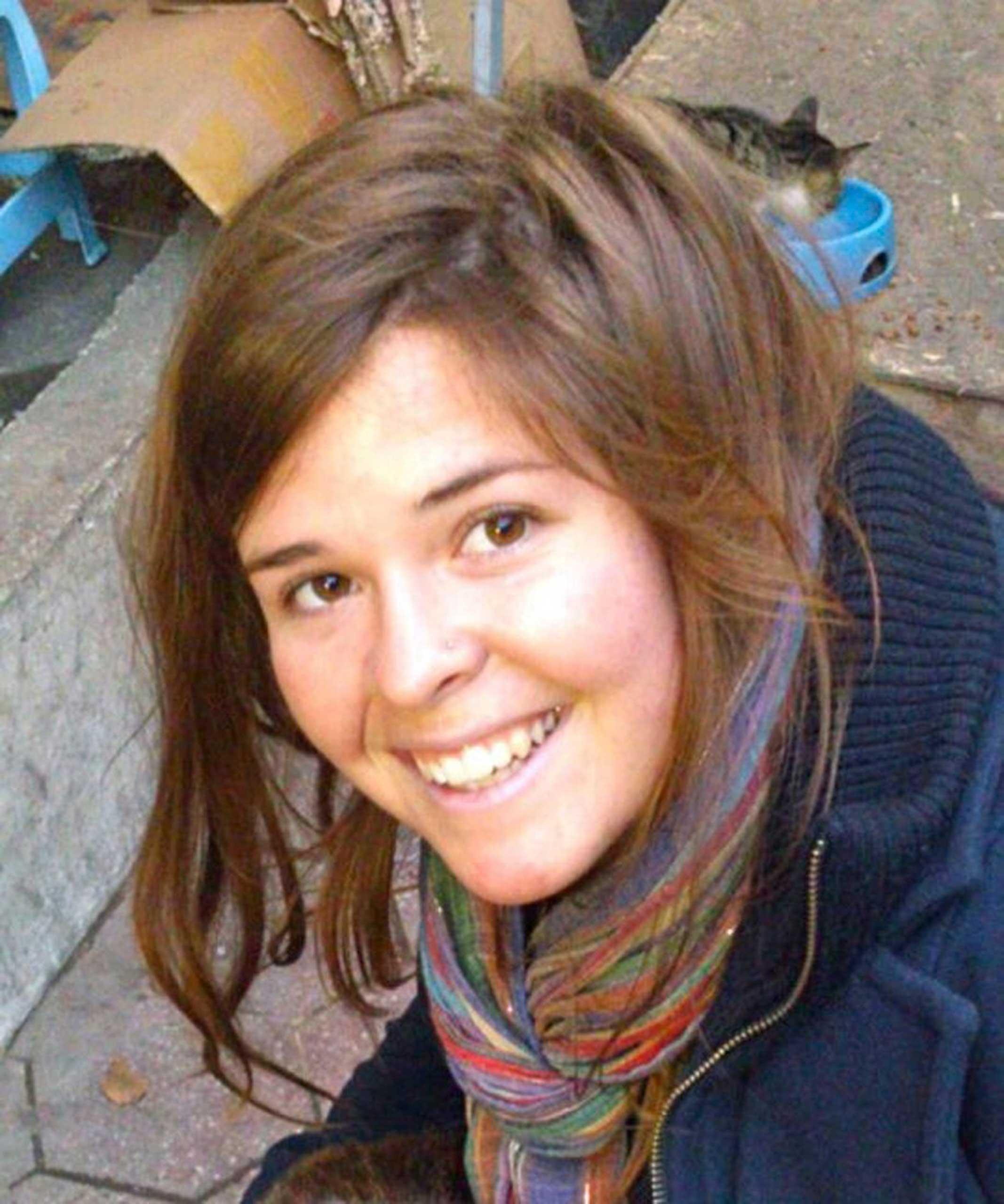 Kayla Mueller, 26, an American humanitarian worker from Prescott, Ariz.