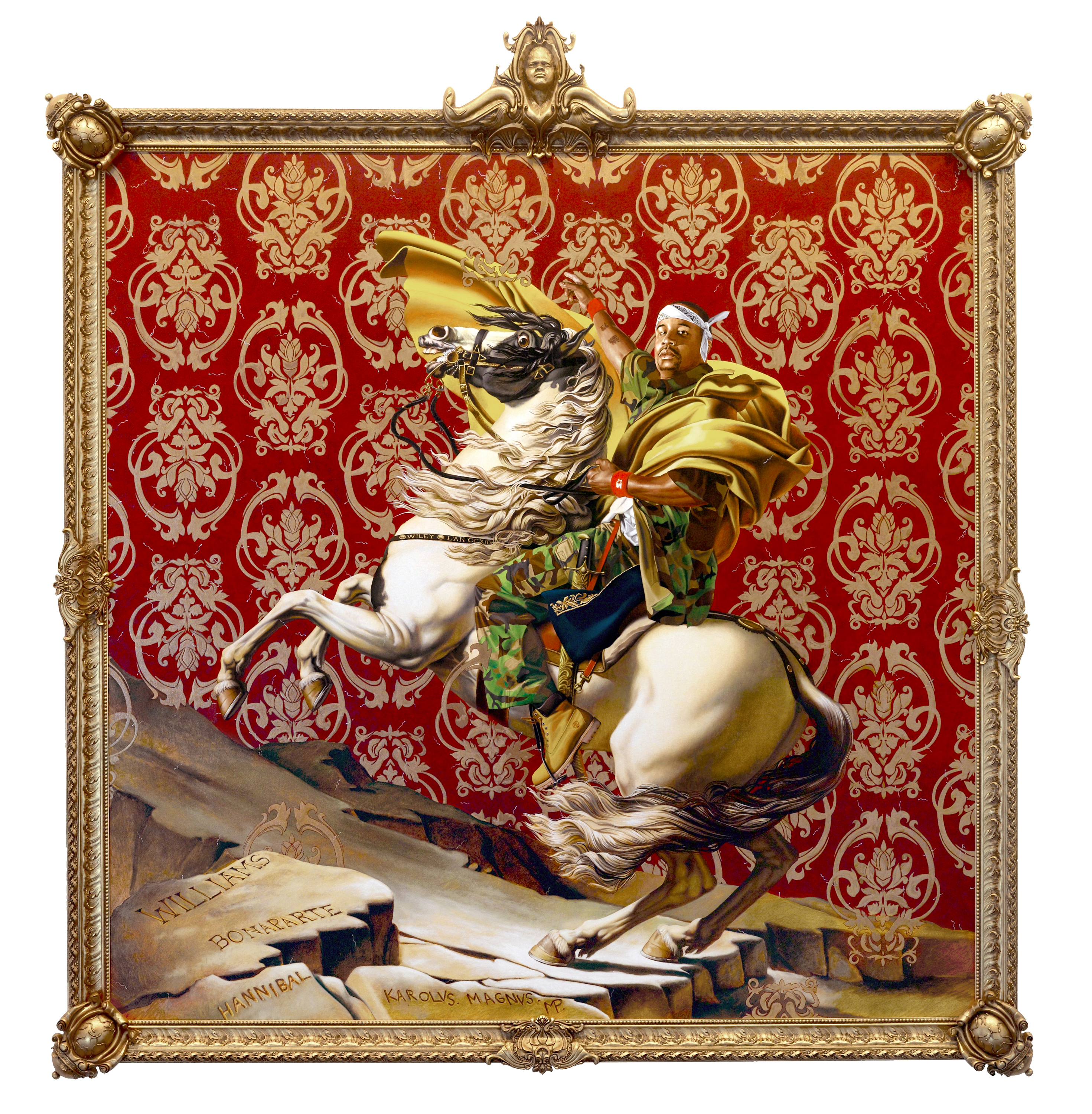 The Royal Treatment: Kehinde Wiley's street-chic update of the Old Masters