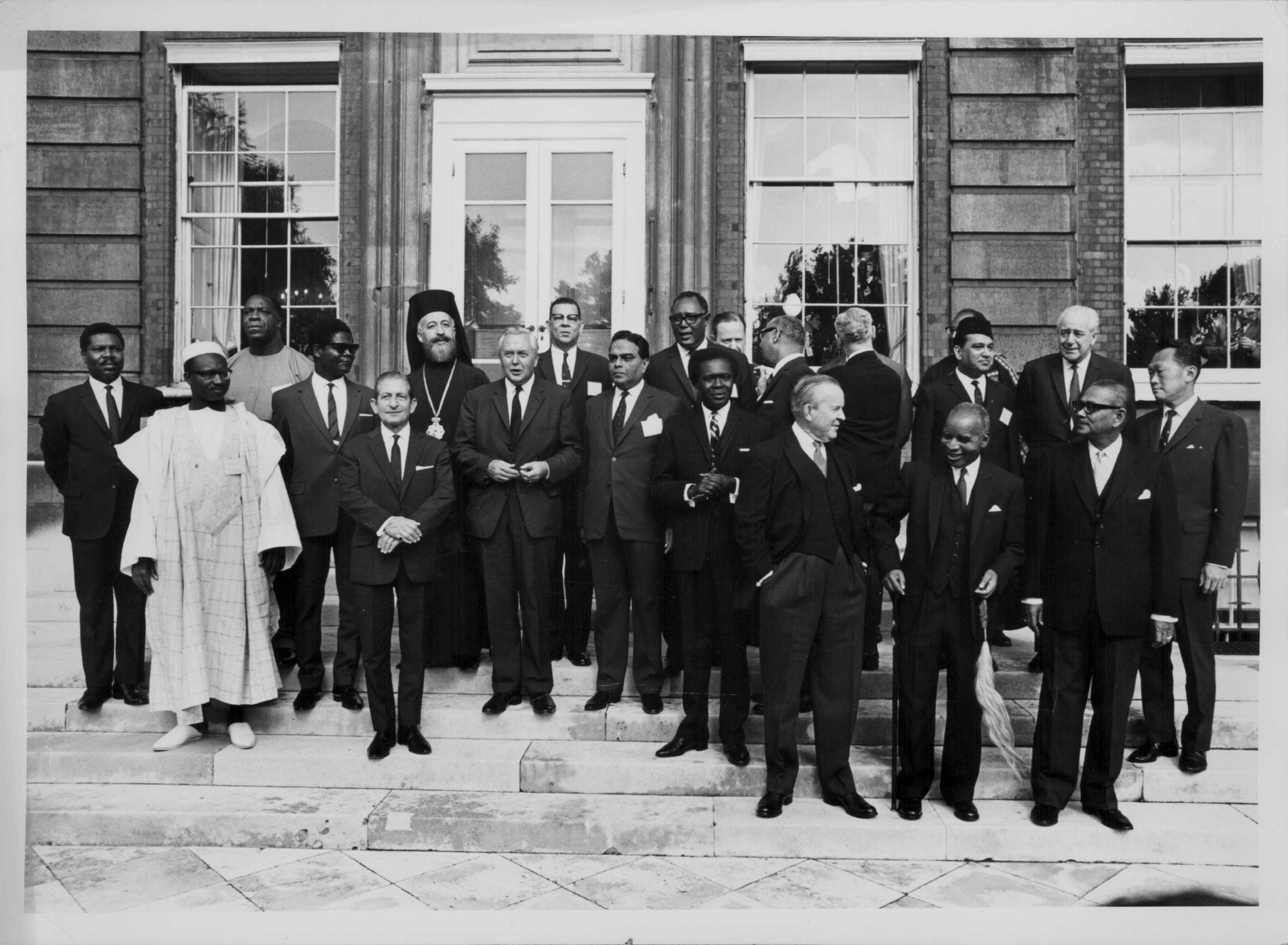 Commonwealth Prime Ministers Conference at Marlborough House, London, in 1966.