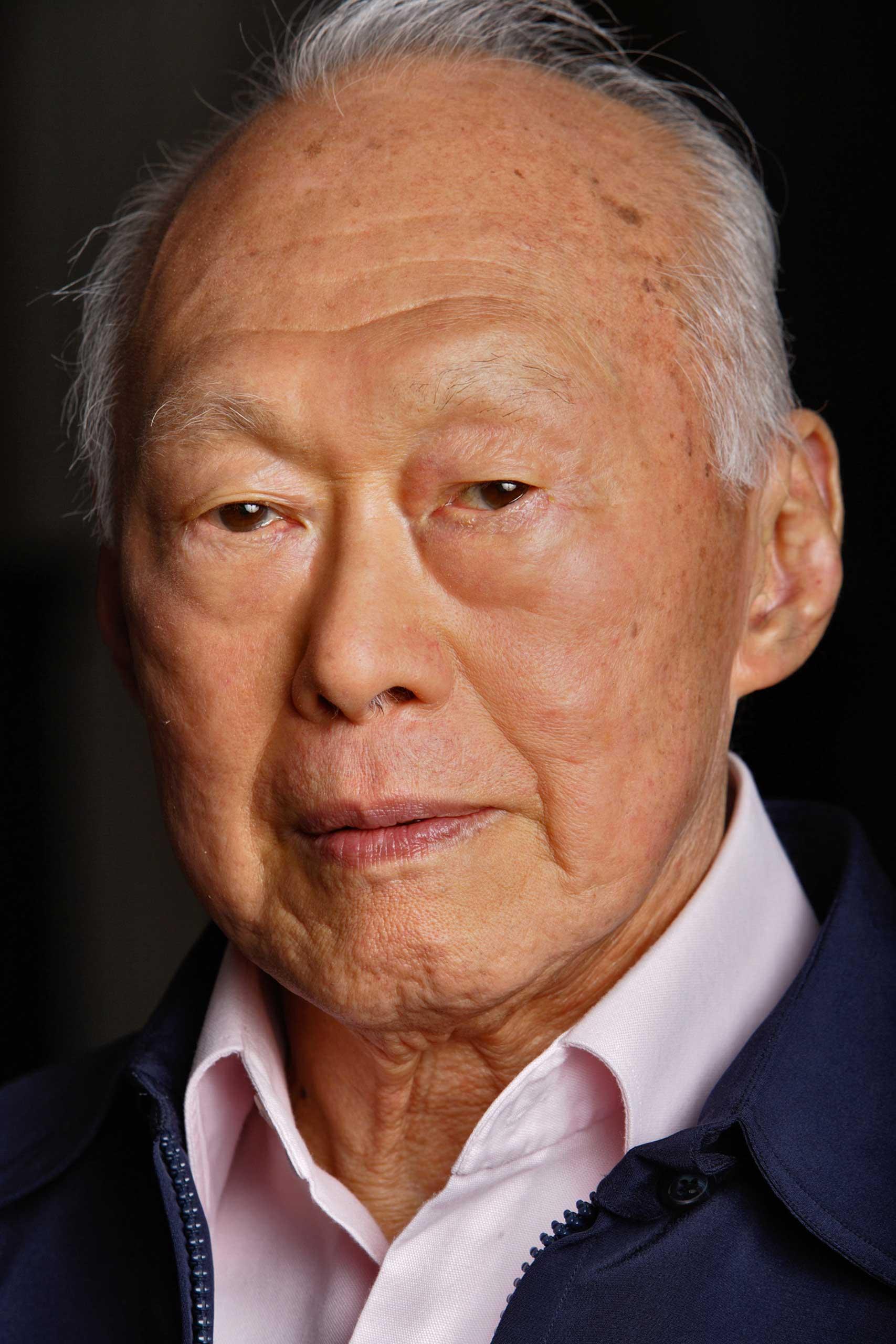 Lee Kuan Yew in 2005.