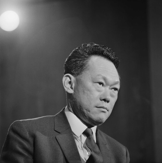 Prime Minister of Singapore Lee Kuan Yew (1923-2015), seen in 1969.