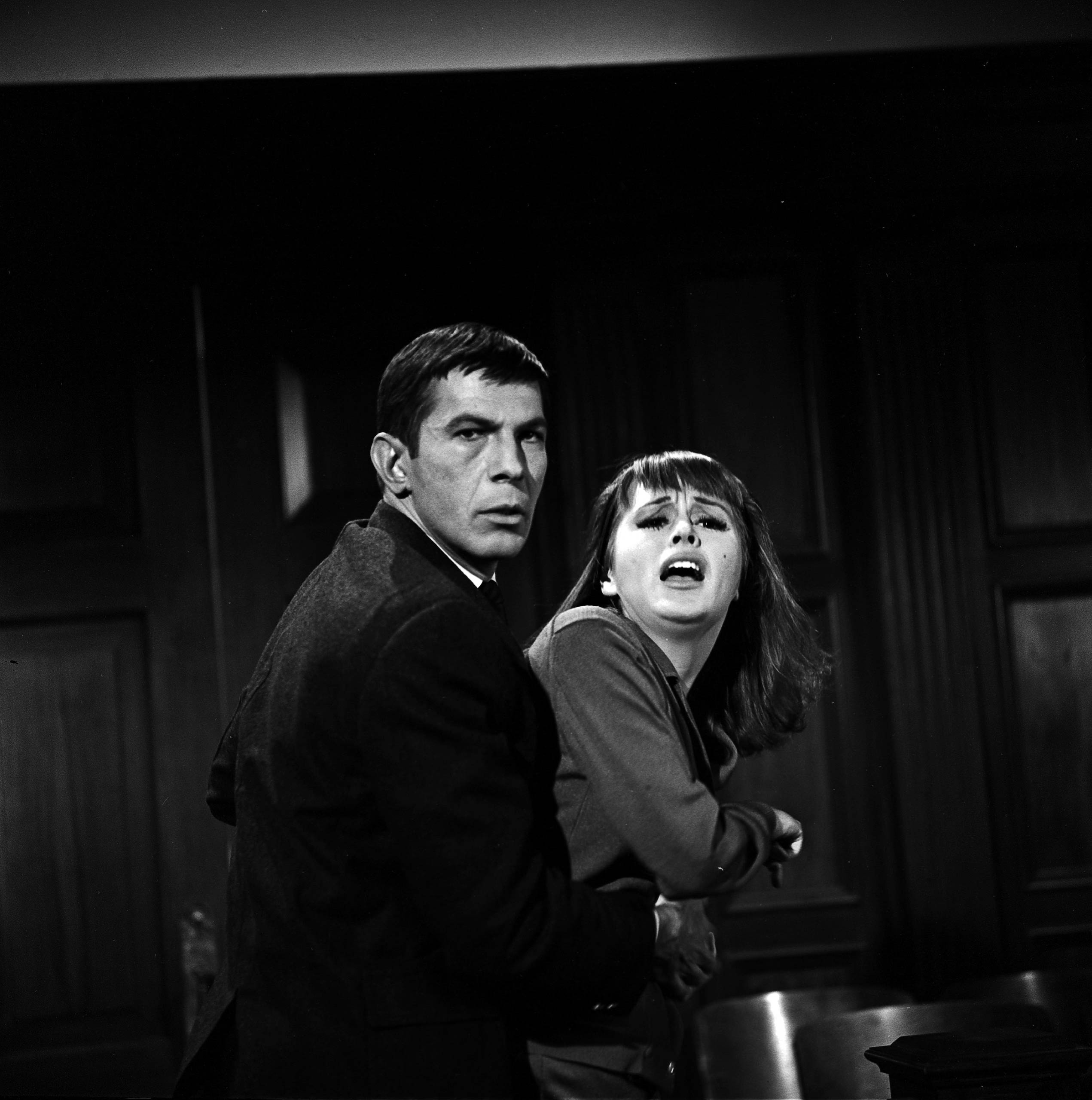 Leonard Nimoy in <i>The Outer Limits</i> in 1964.