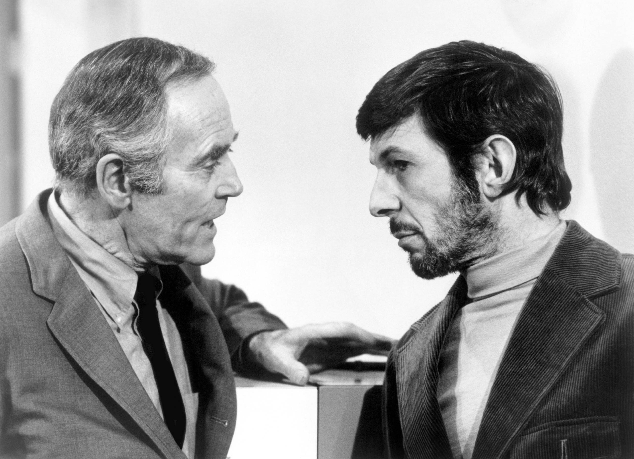 Leonard Nimoy in <i>The Alpha Caper</i> in 1973