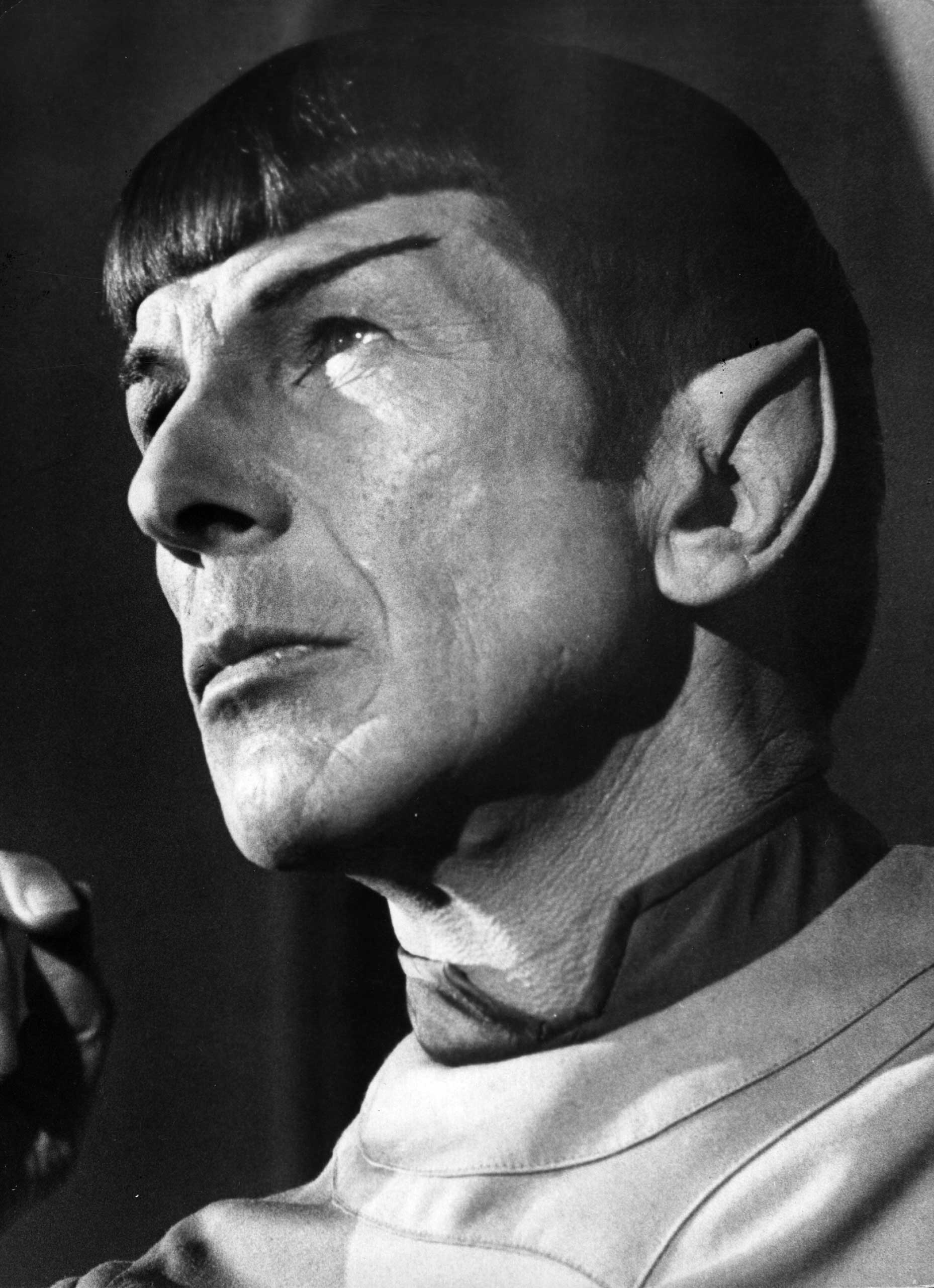 Leonard Nimoy as Mr Spock from the film 'Star Trek - The Motion Picture', 1979.