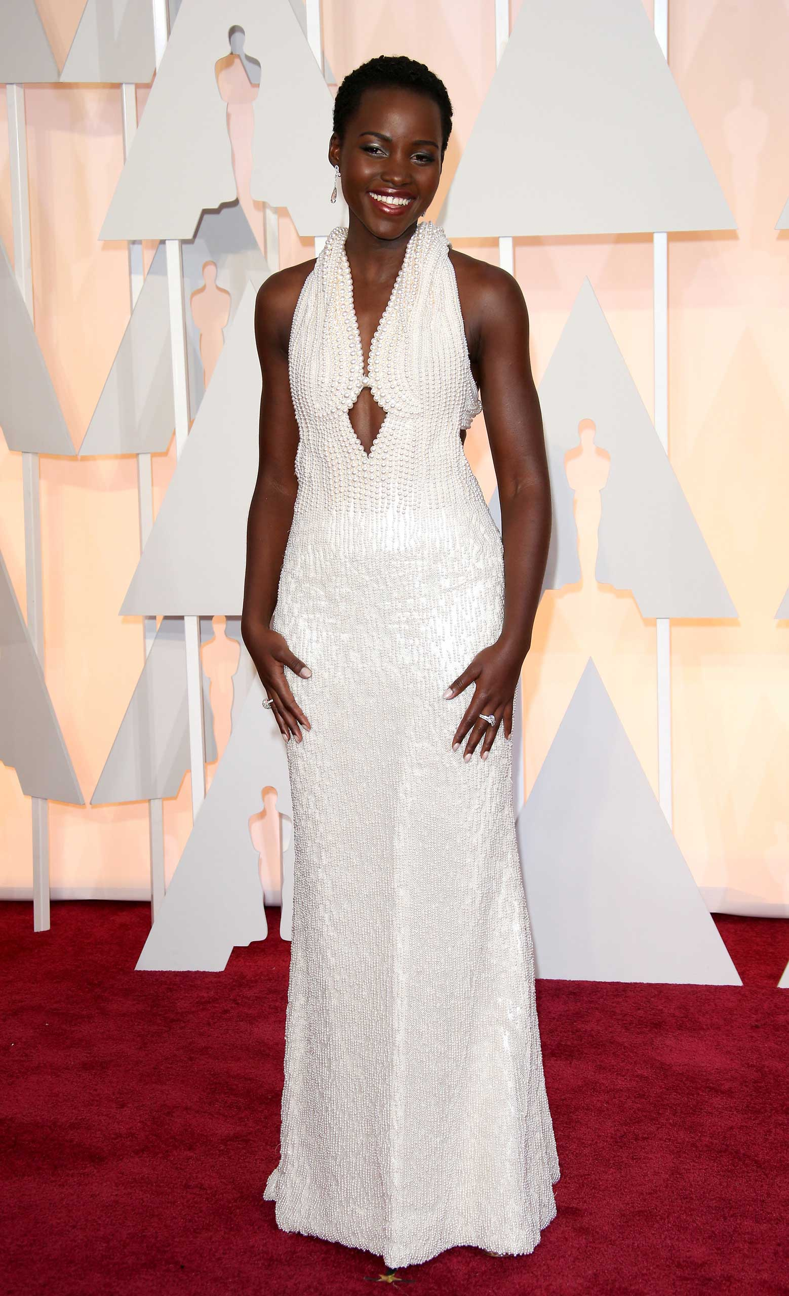 Lupita Nyong'o at the 87th Annual Academy Awards on Feb. 22, 2015 in Los Angeles