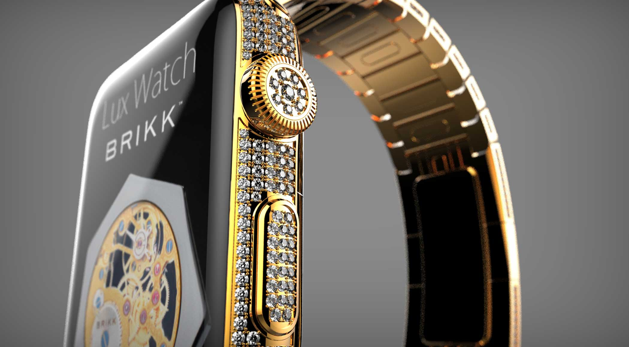 <strong>$75,000</strong> Lux Watch Omni Yellow Gold