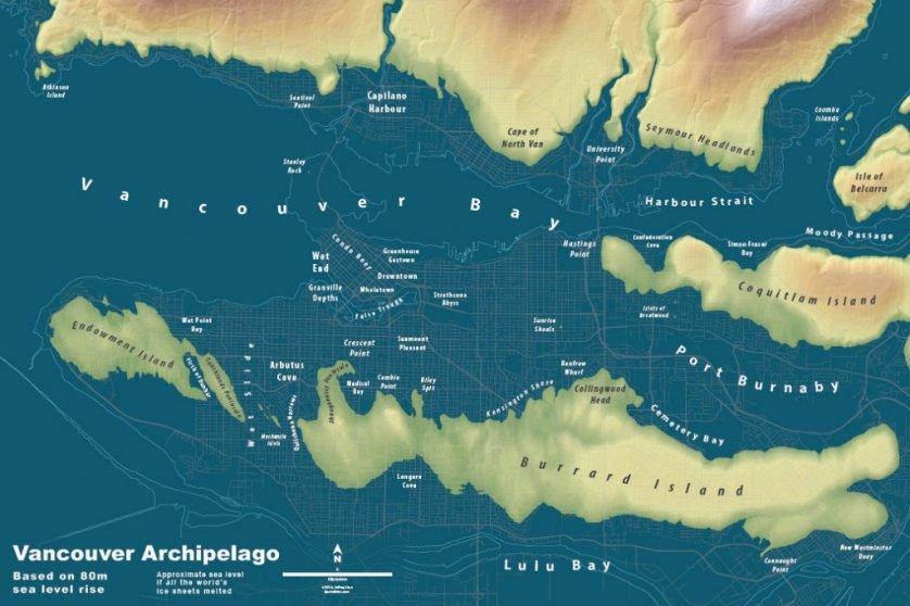 Vancouver Archipelago Map