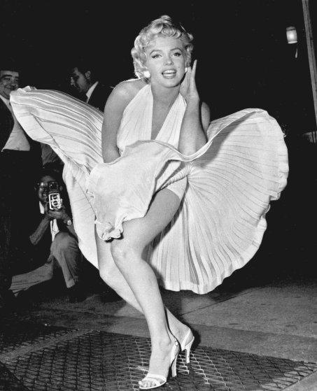 MARILYN MONROE Wind Blown Dress