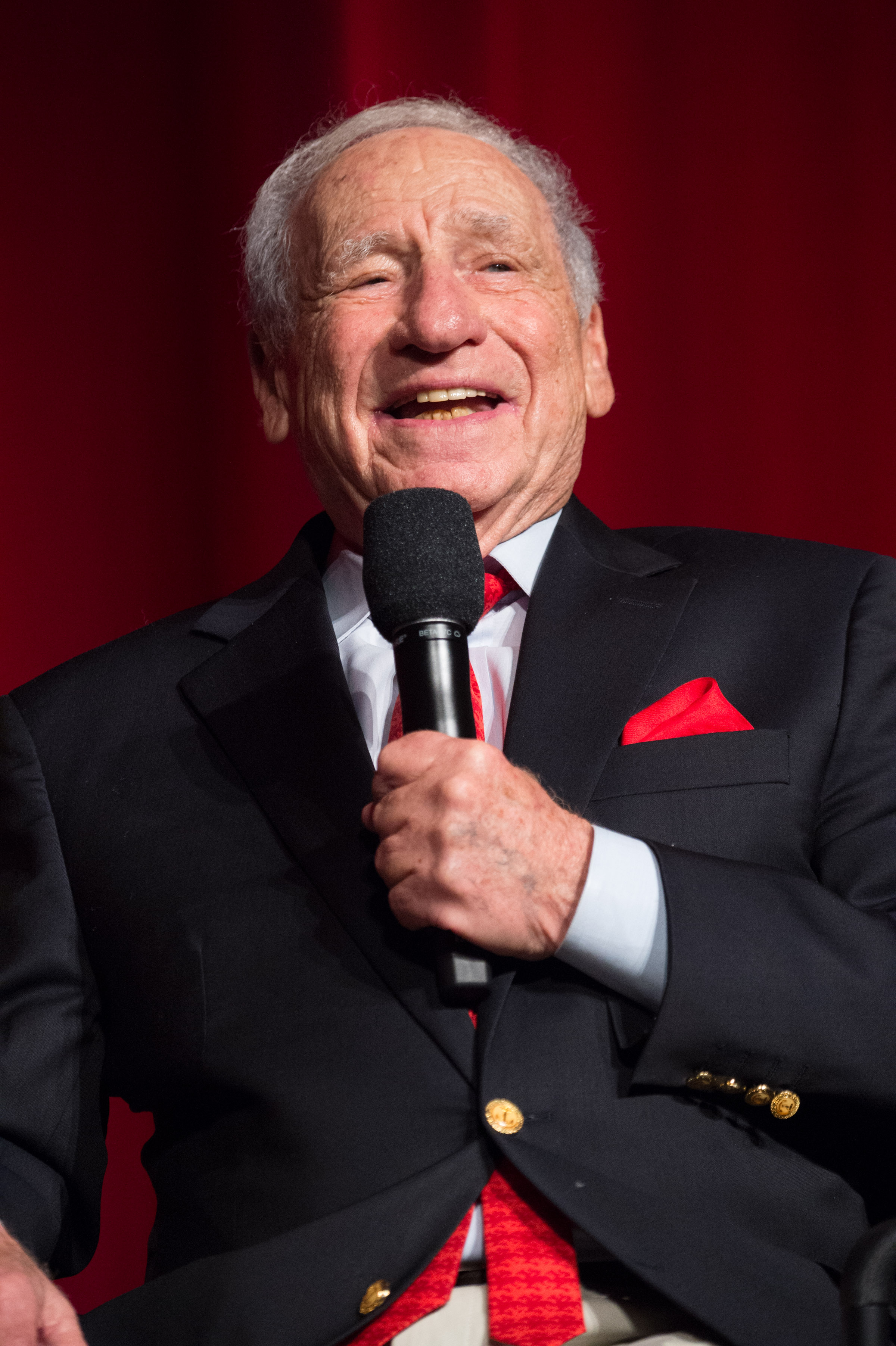 Mel Brooks prior the 40th anniversary screening of  Young Frankenstein  by the Academy of Motion Picture Arts and Sciences at the Samuel Goldwyn Theater, on Sept. 9, 2014.