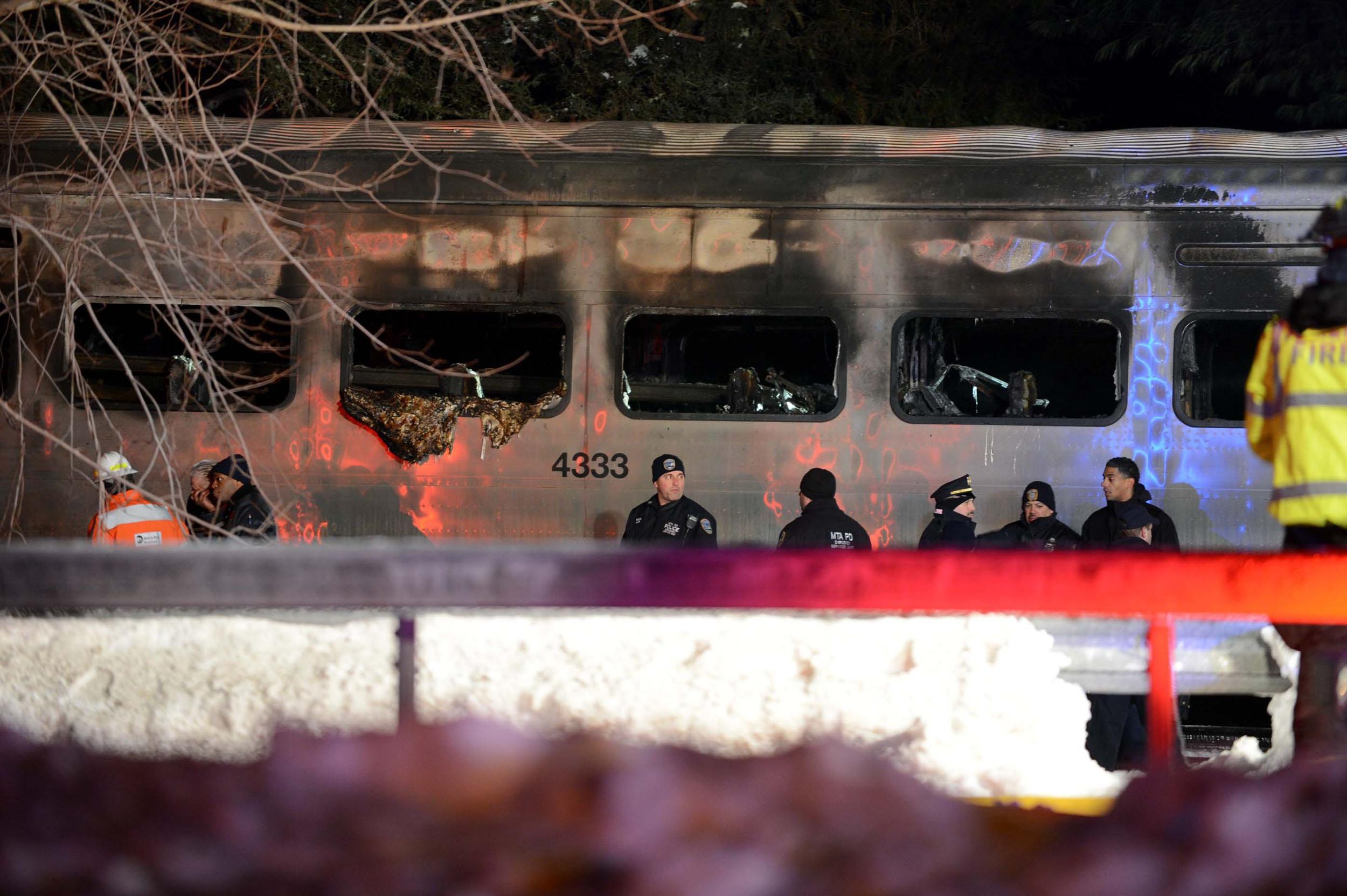 Seven people were killed, around 12 injured in a Metro-North crash in Valhalla, N.Y. on Feb. 3, 2015.