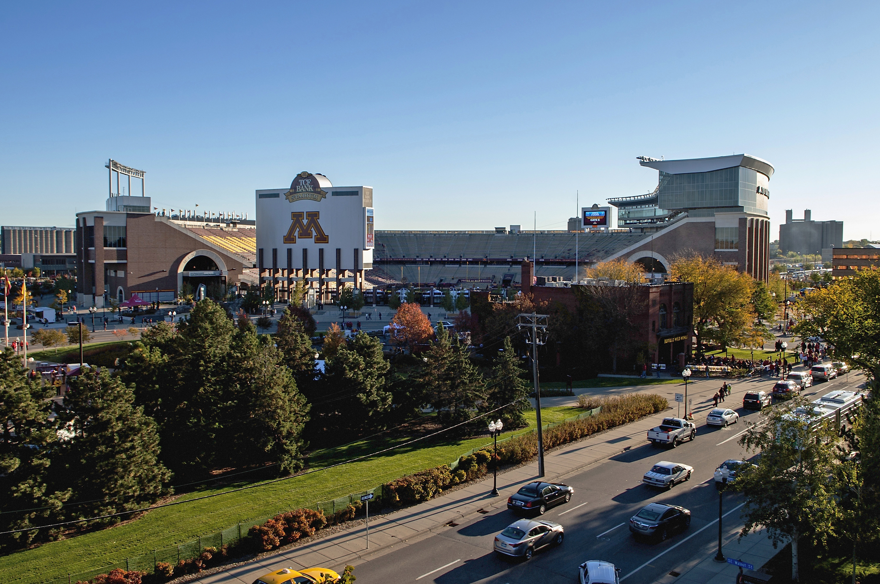 A general view of TCF Bank Stadium on Oct. 26, 2013 in Minneapolis.
