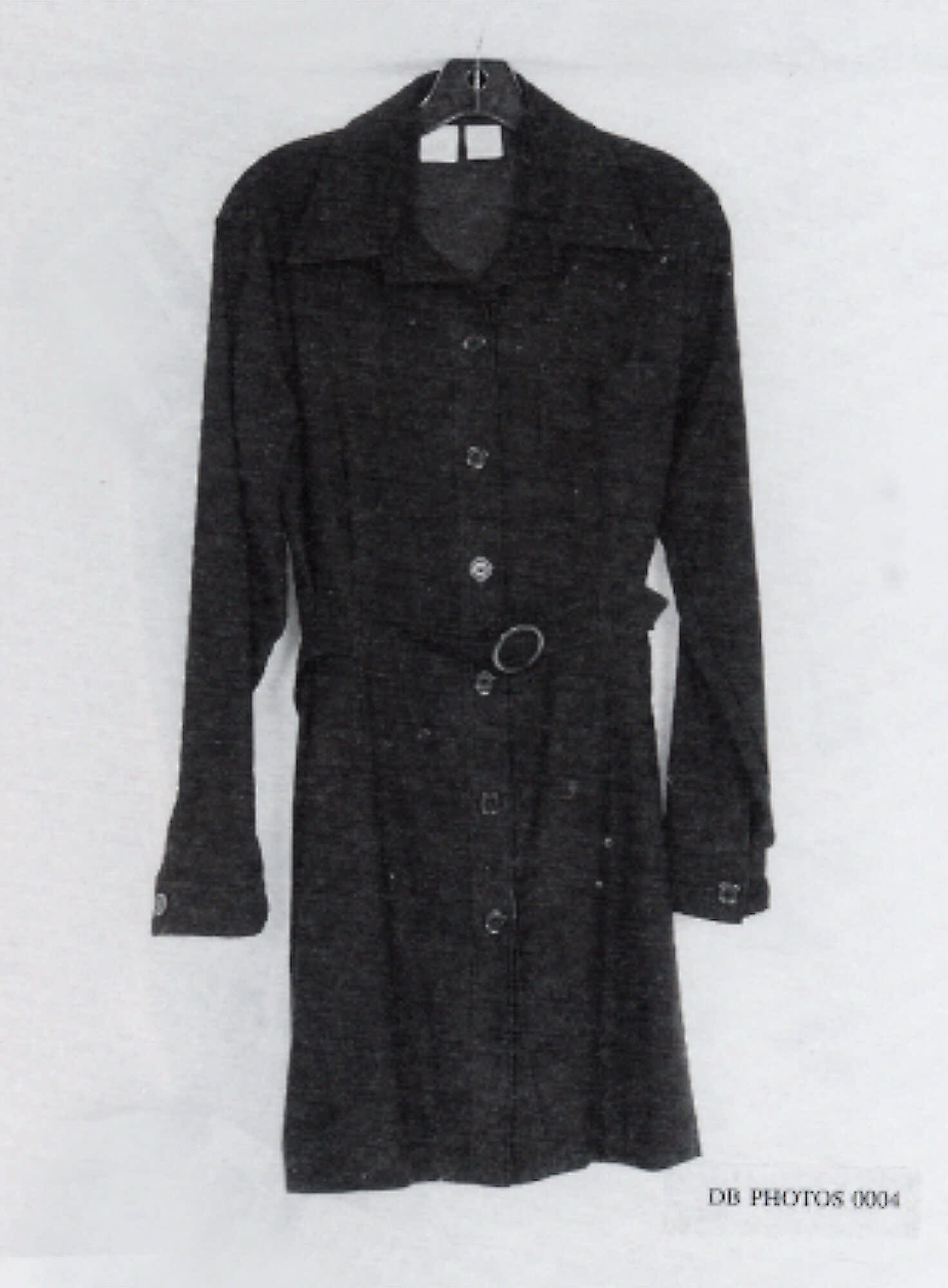 This is a photo from page 2991 of Independent Counsel Kenneth Starr's report showing Monica Lewinsky's dress which was tested for physical evidence of a relationship between President Clinton and Monica Lewinsky.