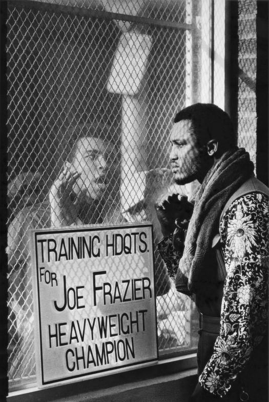 Ali and Joe Frazier in Philadelphia, 1971