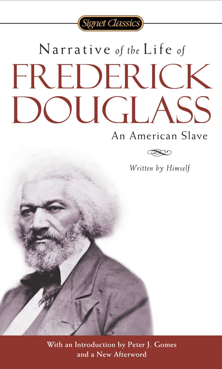 """<i><a href=""""http://www.amazon.com/dp/0486284999/?tag=timecom-20"""" target=""""_blank"""">Narrative of the Life of Frederick Douglass</a></i>                                   By Frederick Douglass, 96 pages. Considered the foremost autobiography of a former slave, Douglass's Narrative was a major credit to the abolitionist cause. It's also one of the strongest testaments to the power of reading."""