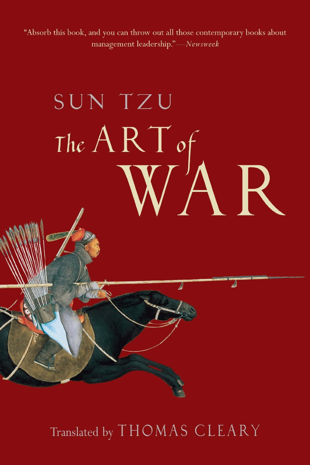 The Art of War                               By Sun Tzu, 68 pages. The cunning yet ruthless ancient Chinese military handbook has proved instructive for centuries—Tony even made use of it in The Sopranos.