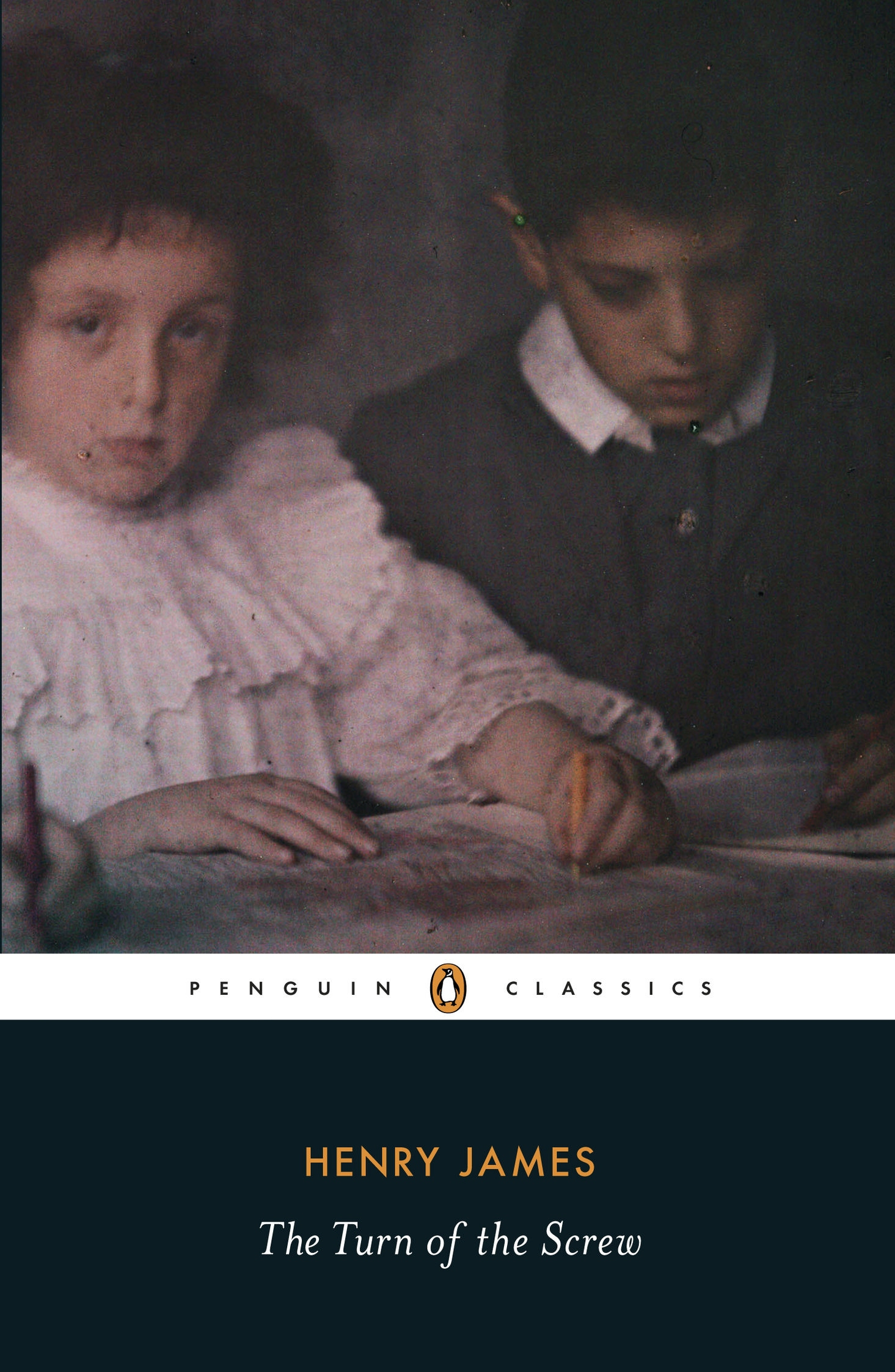 The Turn of the Screw                               By Henry James, 96 pages. Two children and their new governess are at the center of this chilling ghost story.